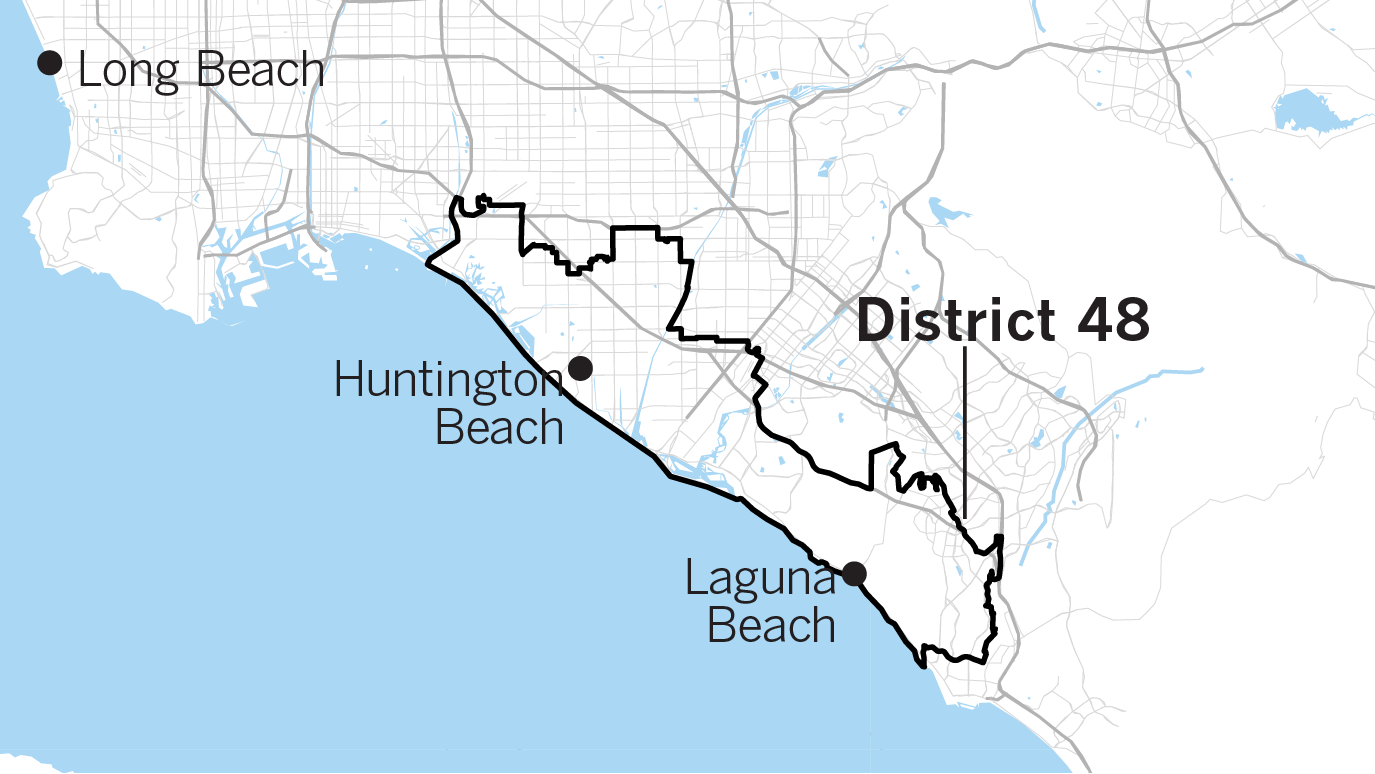 Congressional District 34 California Map.Will California Flip The House The Key Races To Watch Los Angeles