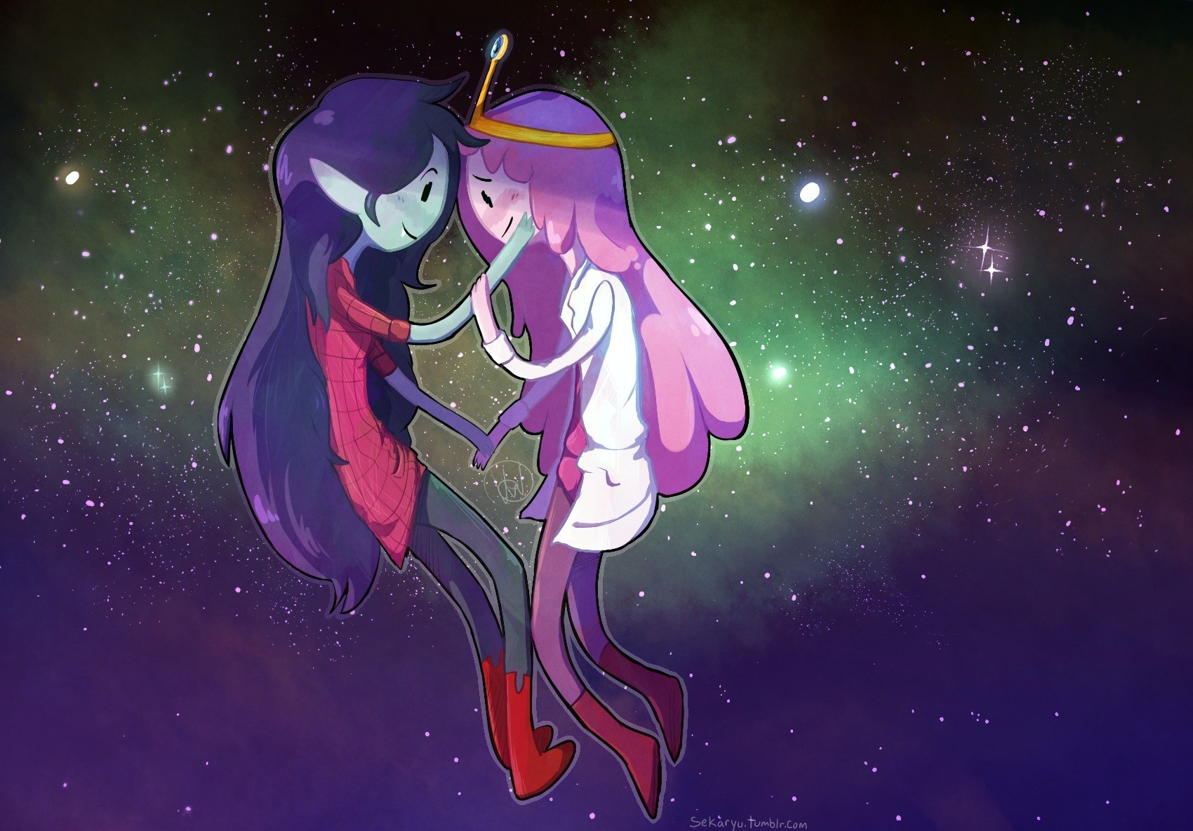 Marceline connects
