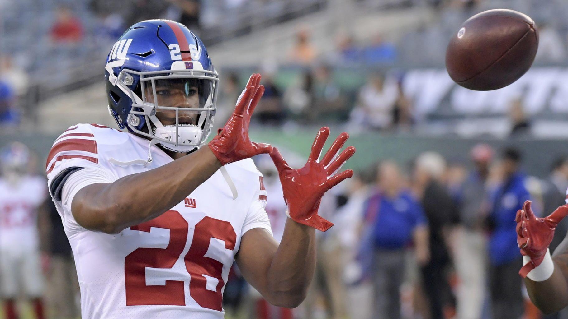 Rookie Saquon Barkley has top-selling NFL jersey without playing a down 4b8f61608