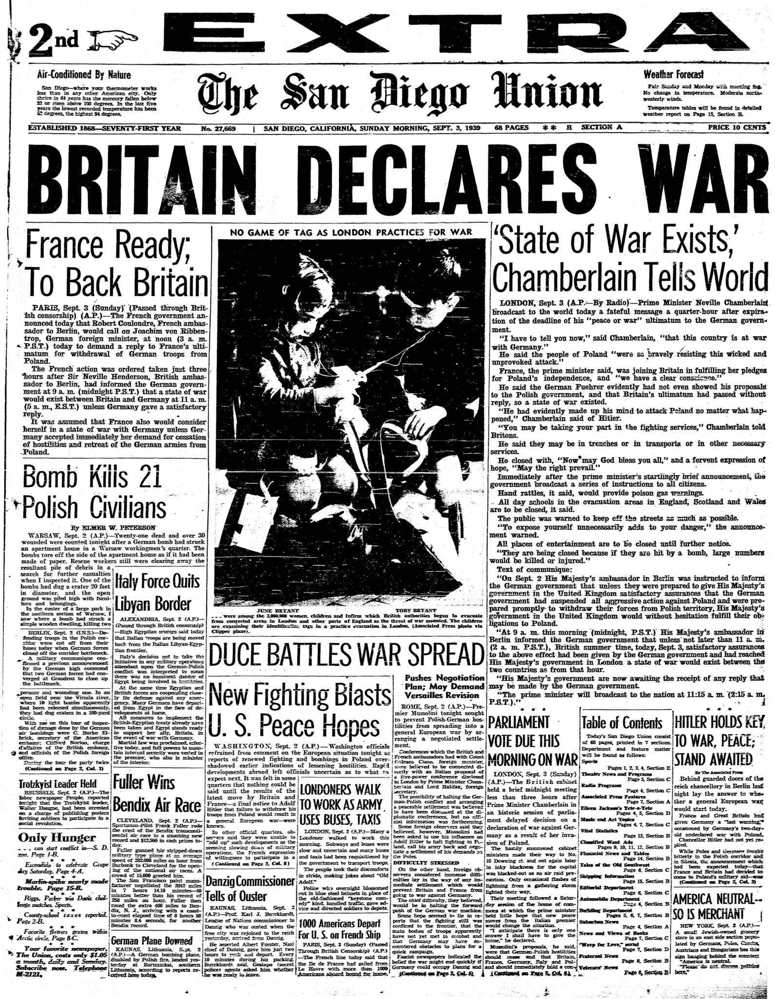 September 3, 1939