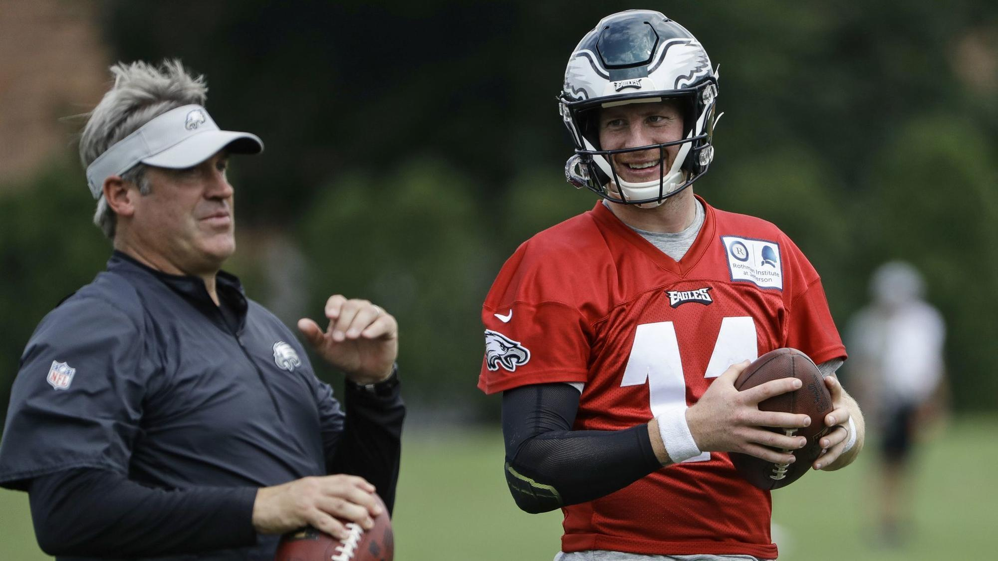 Carson Wentz Not Starting Opener Likely Not Week 2 Either