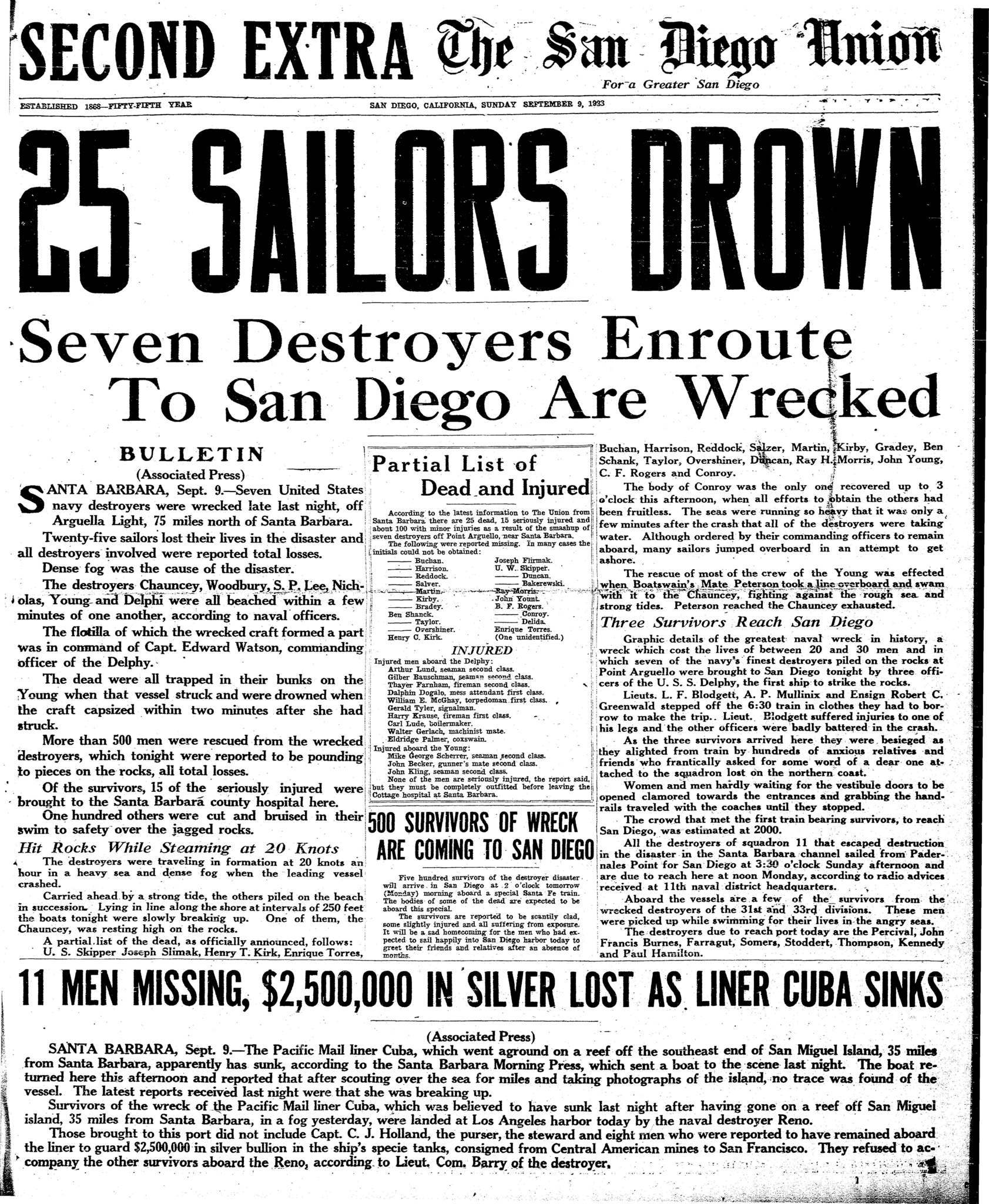 September 9, 1923