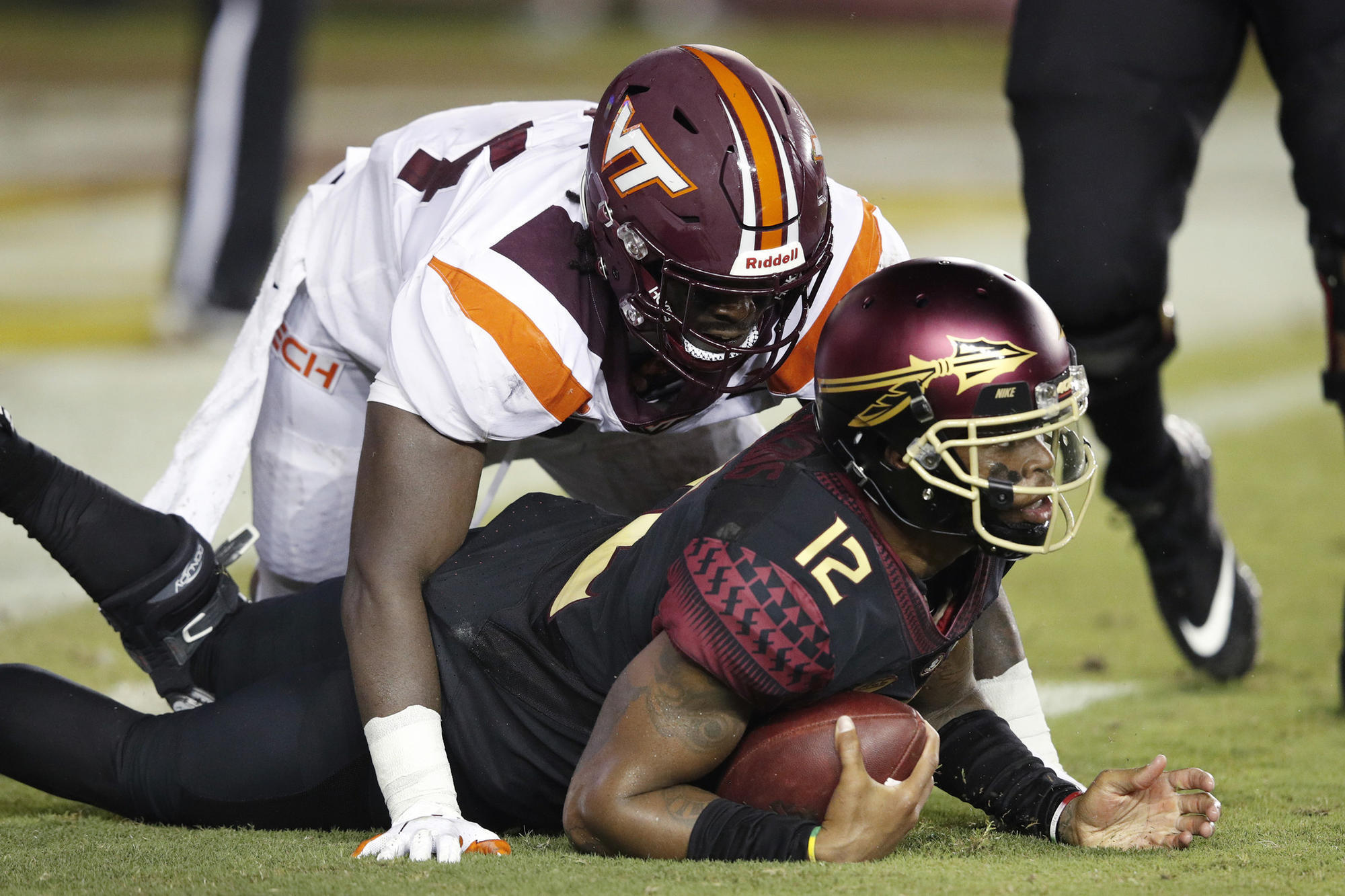 Fsu Offense Stalls Seminoles Fall To Virginia Tech In Taggart S