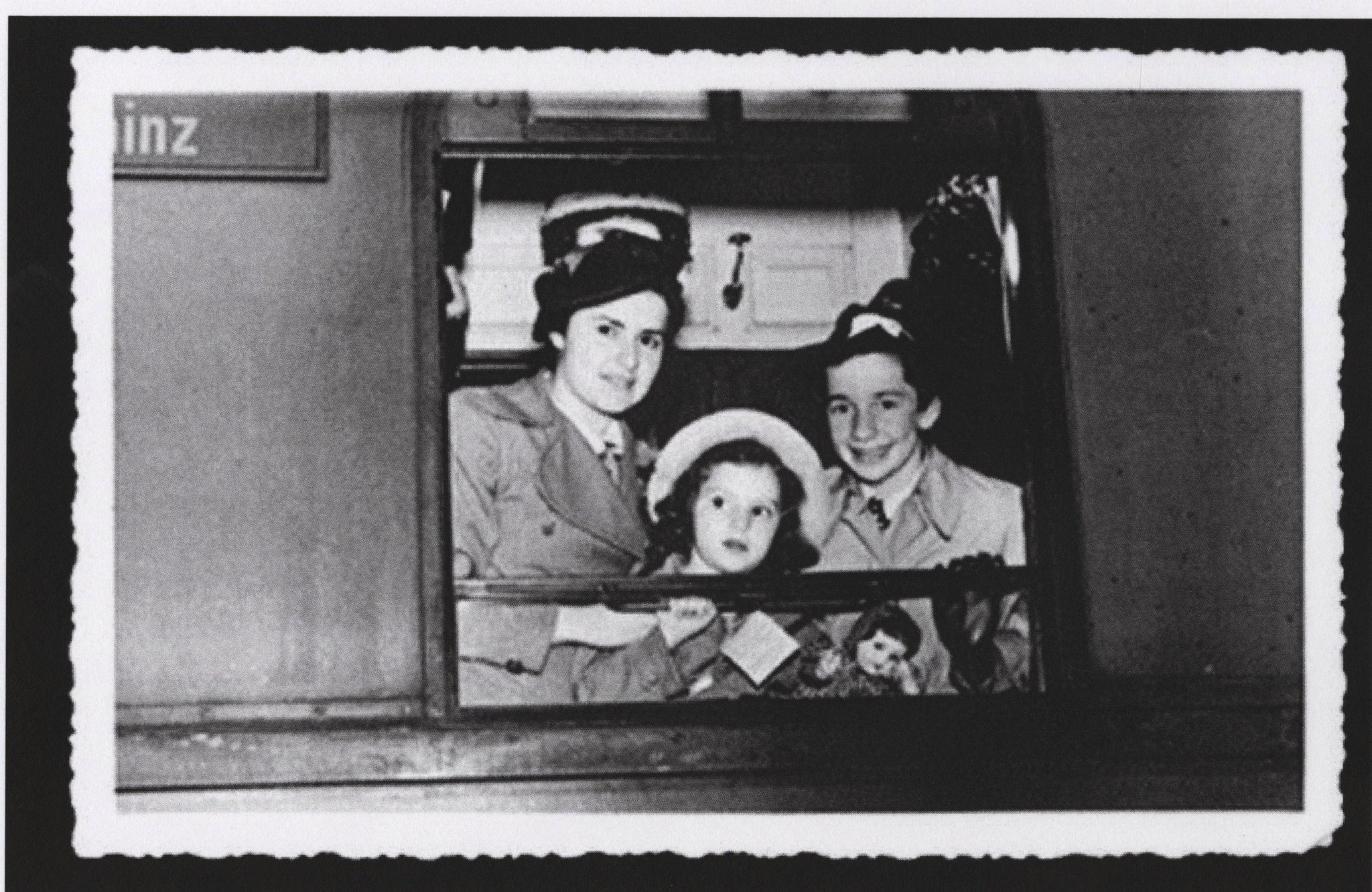 """Childhood Left at the Station: A Tribute to the Children of the Kindertransport"""