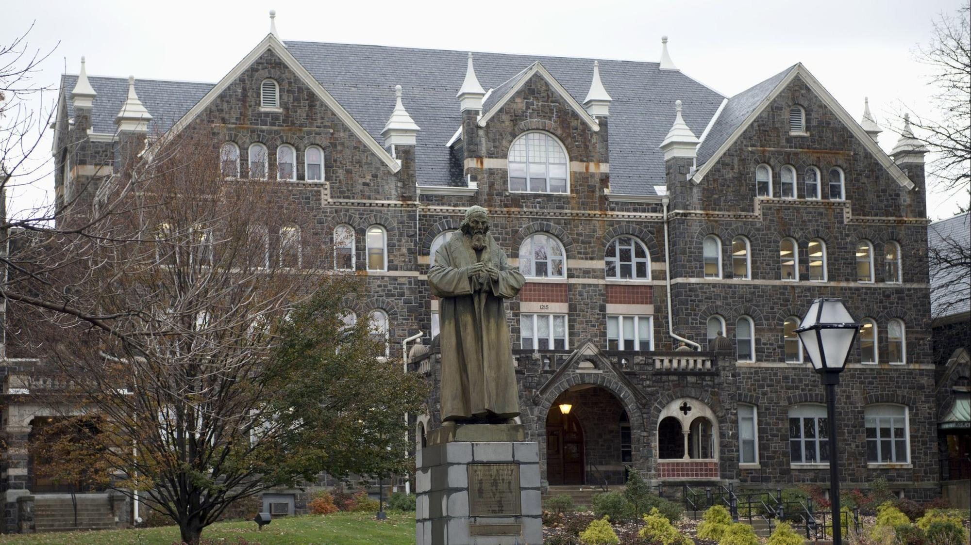 Student sues Moravian College, claiming school mishandled her report
