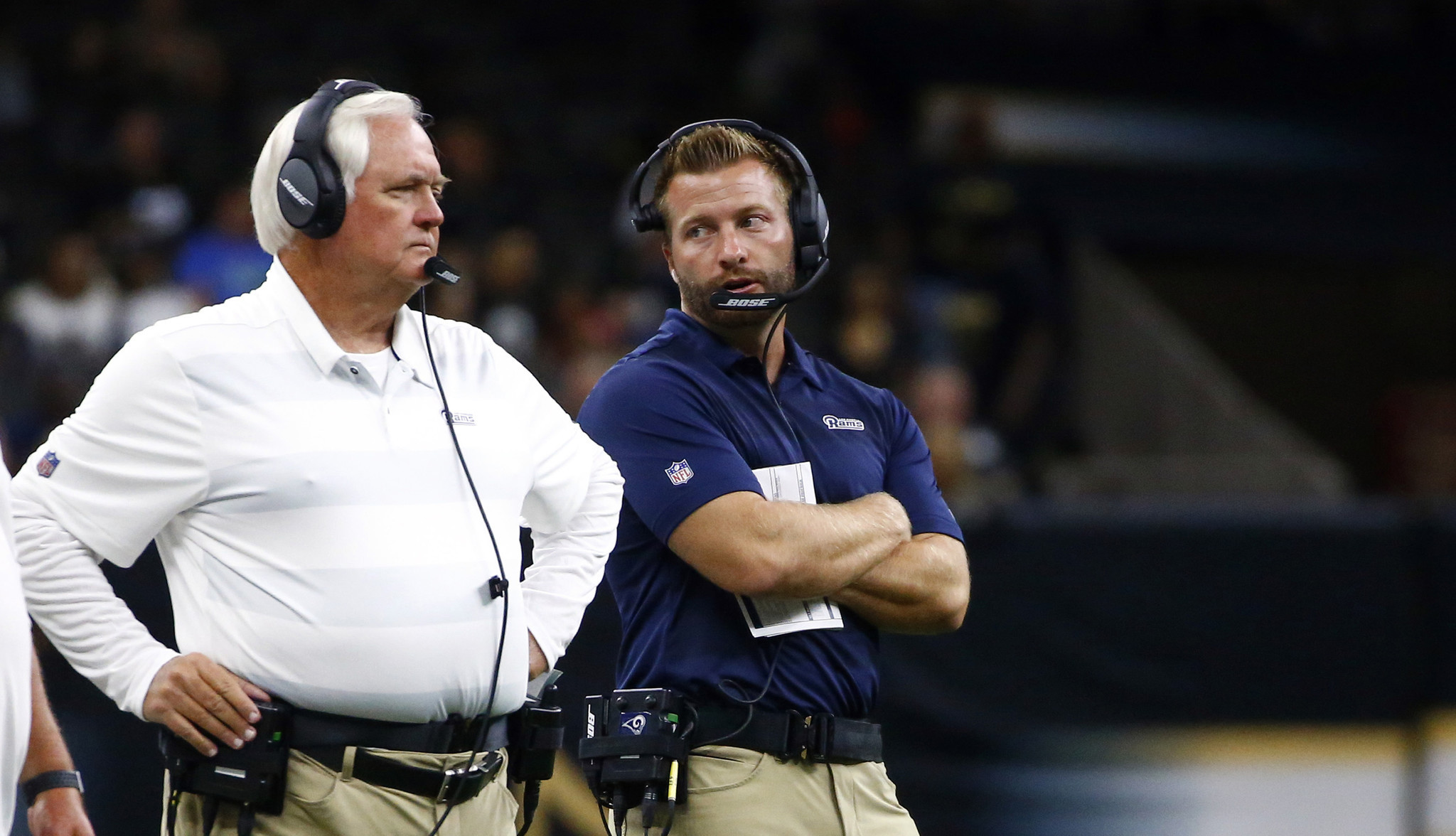 Sean McVay, Wade Phillips