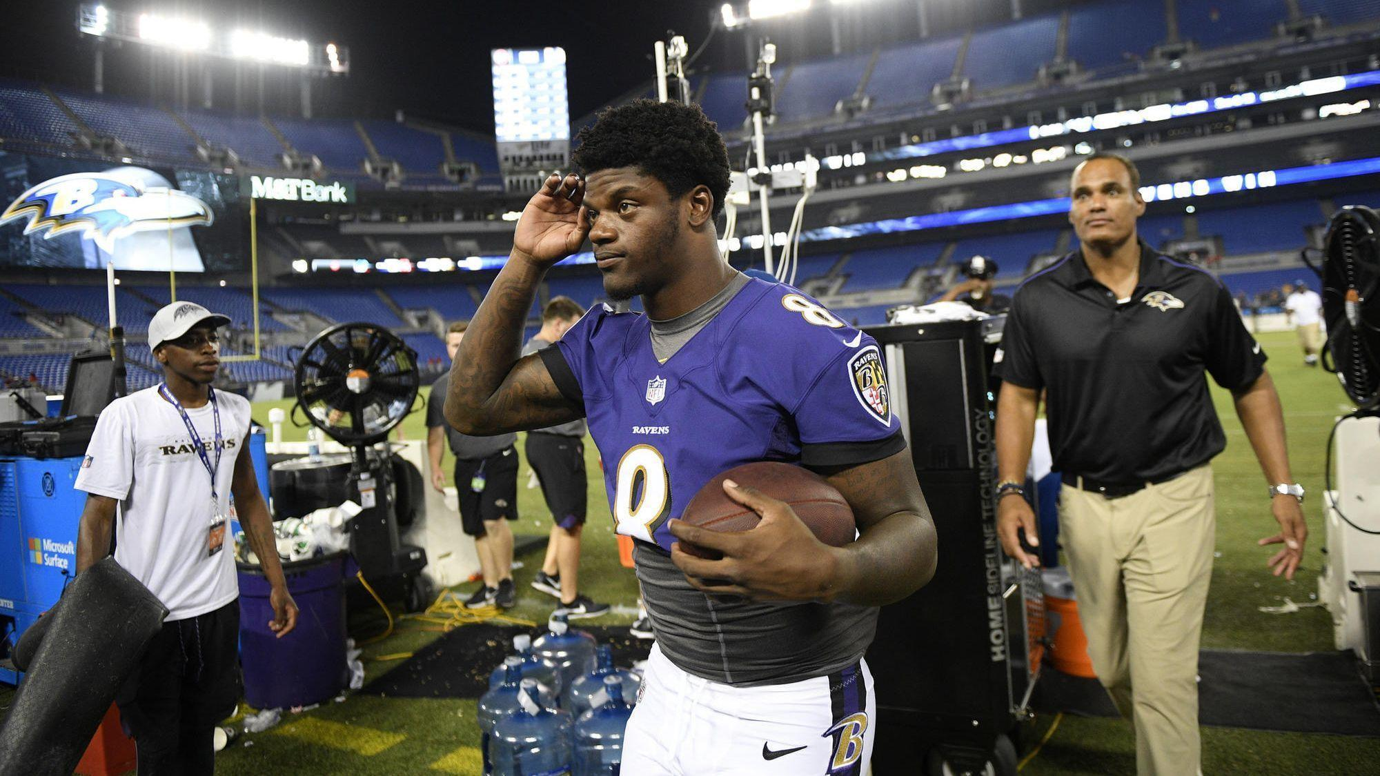 4729bec01 Ravens rookie Lamar Jackson enters NFL with a lifelong will to play  quarterback - Baltimore Sun