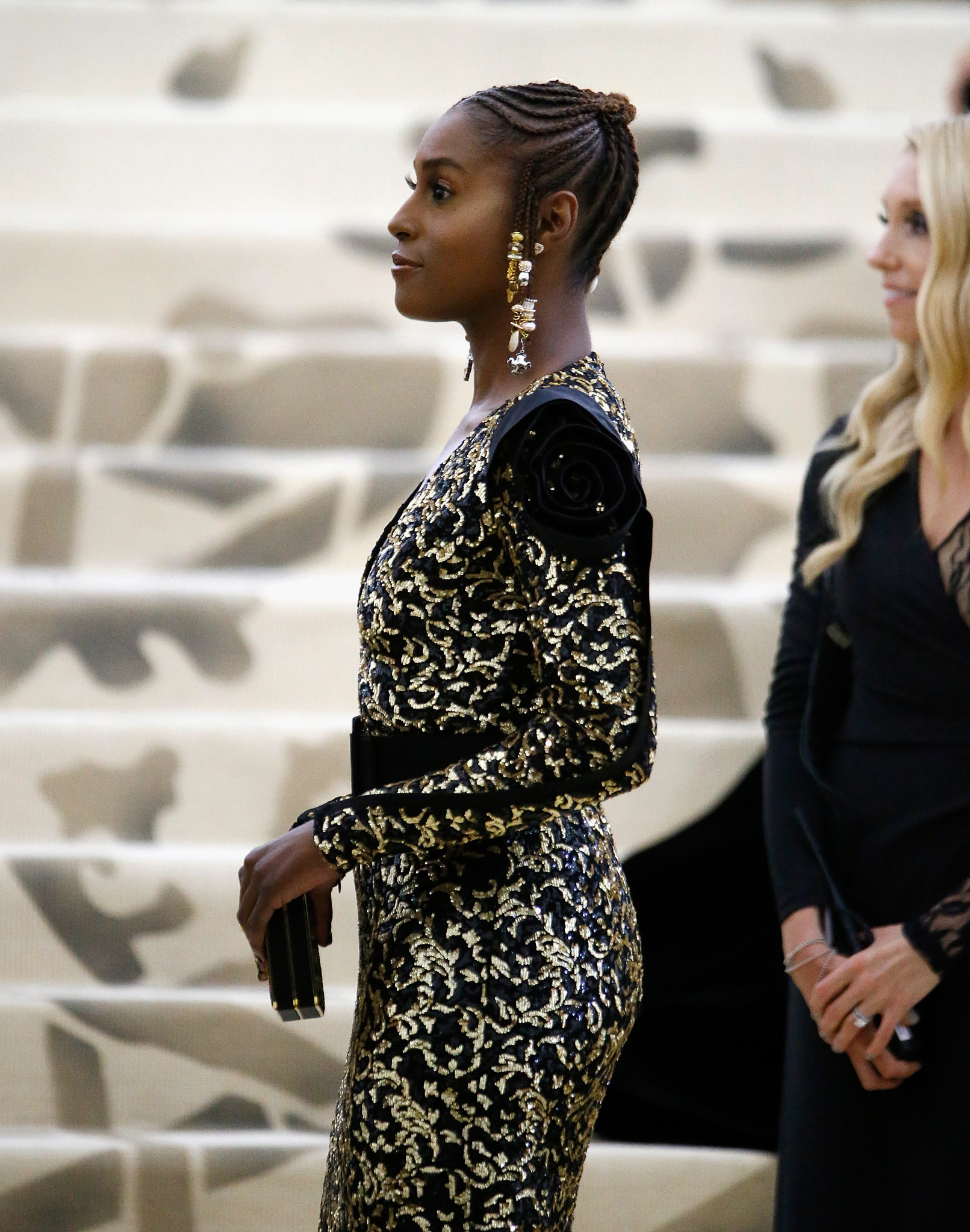 "Issa Rae at the ""Heavenly Bodies: Fashion and the Catholic Imagination"" Costume Institute Gala at the Metropolitan Museum of Art in New York on May 7, 2018."