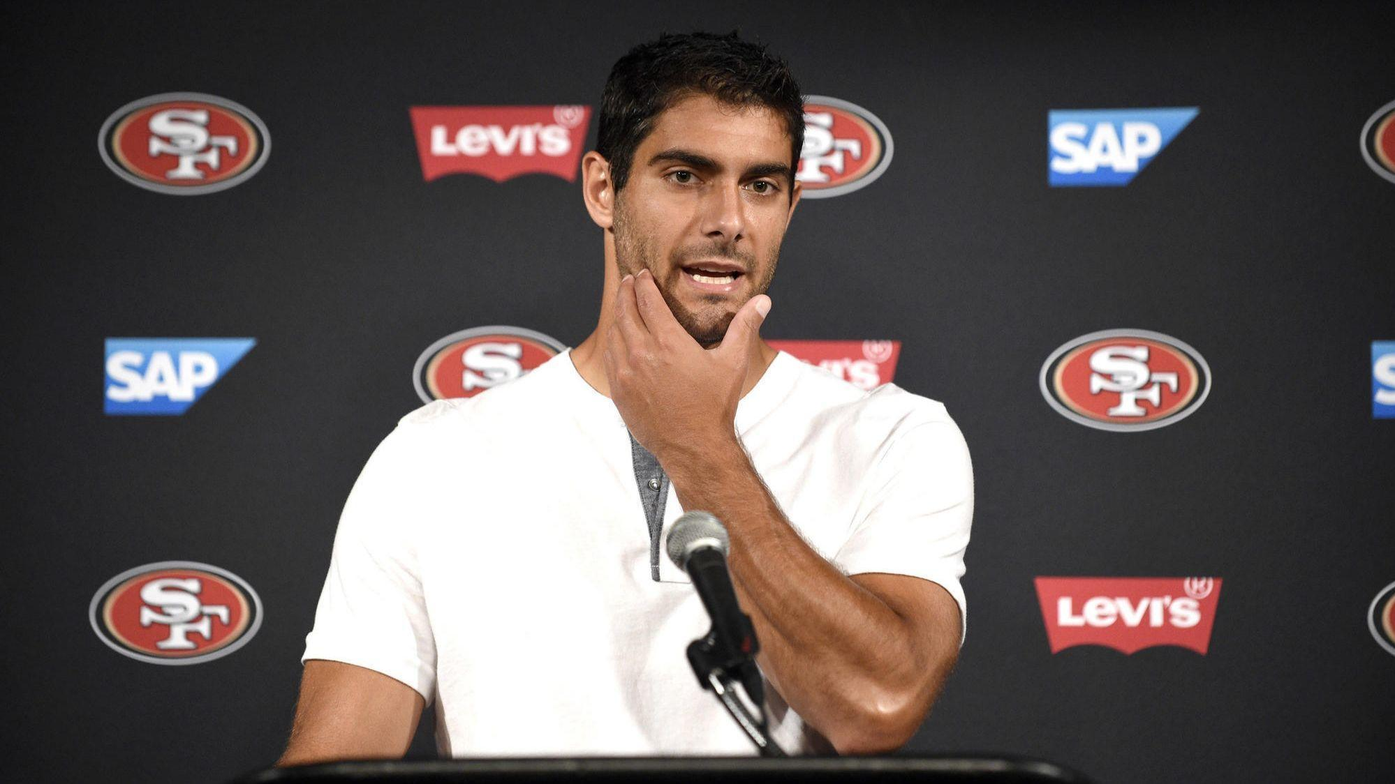 b2600246602 Can suburban Chicago native Jimmy Garoppolo become the face of the NFL