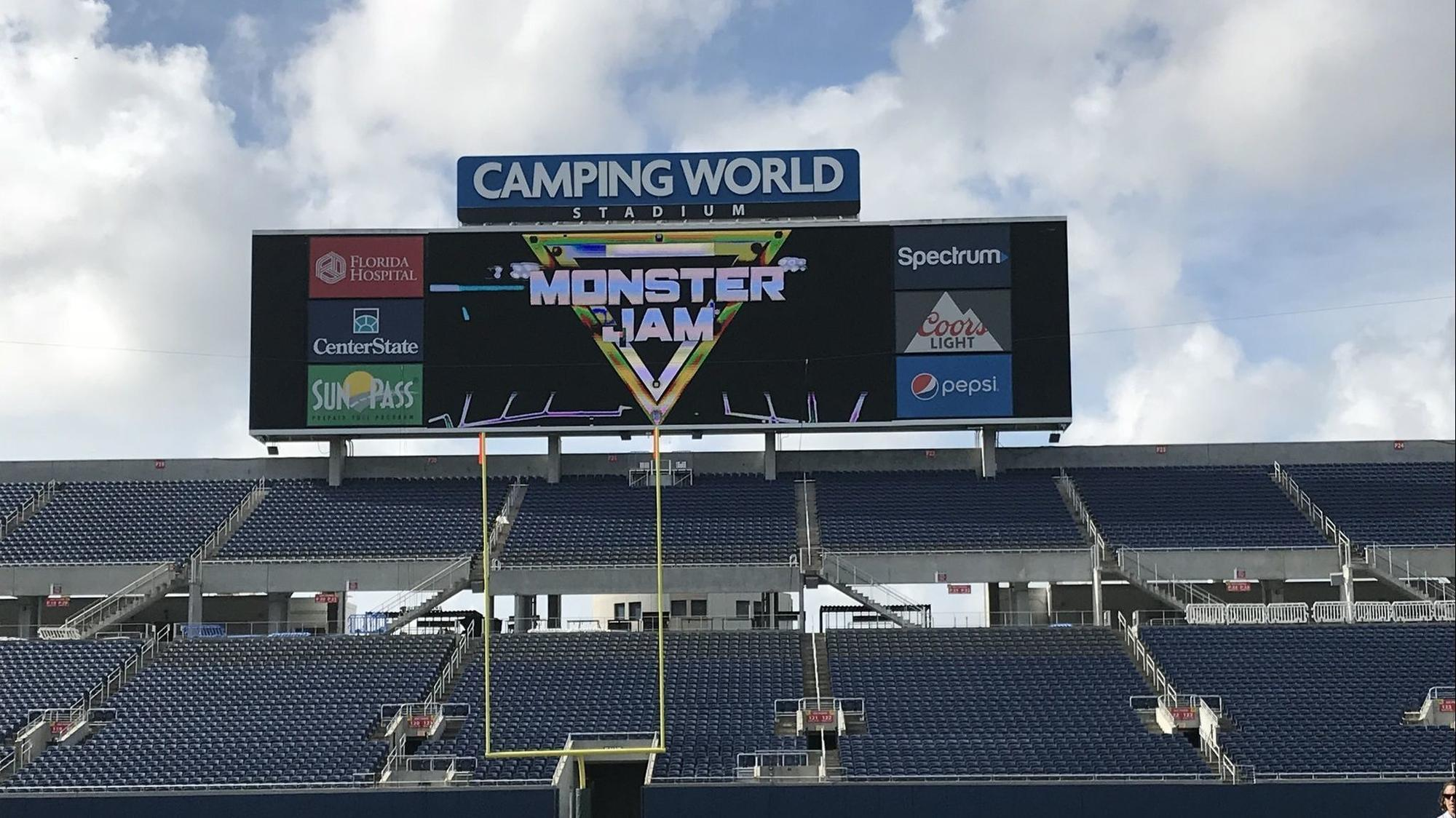 Big Wheels, Big Thrills Monster Jam championship bound for
