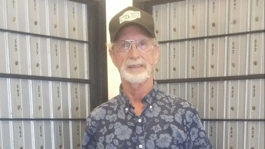 David Green, a Ramona mailman for nearly 50 years, follows in the footsteps of his father, Wally Green, who was a Ramona postal worker for 30 years.