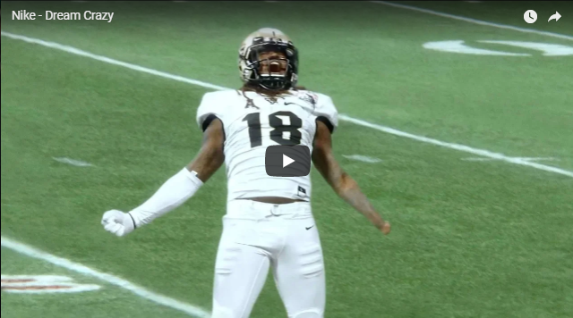 Ucf Star Shaquem Griffin Featured In Nike Ad Voiced By Colin