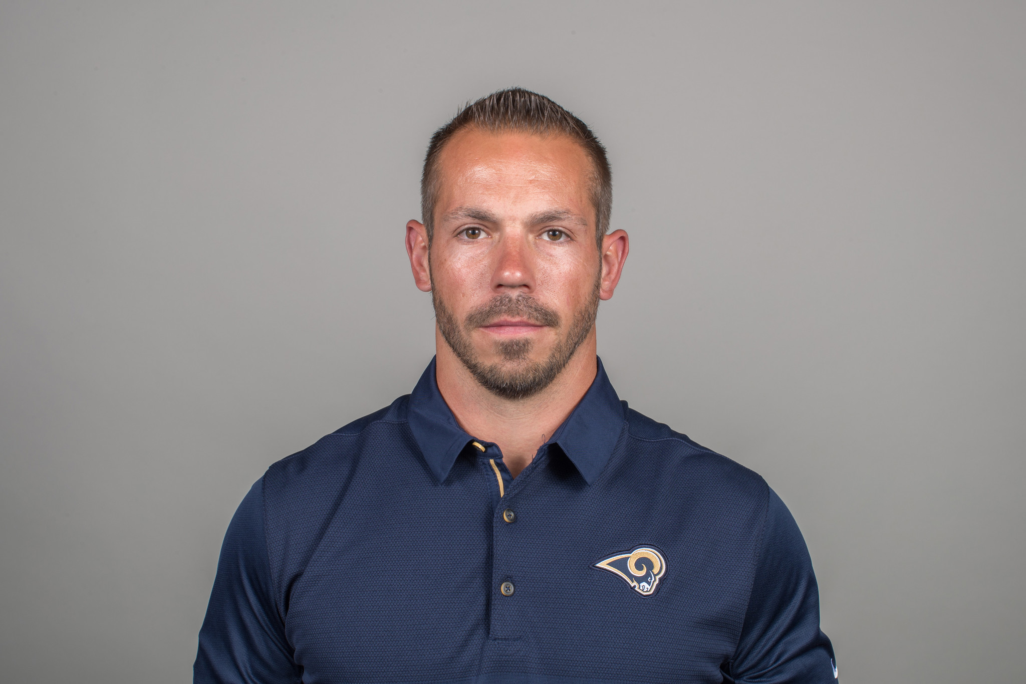 Ted Rath of the Los Angeles Rams headshot, Thursday, April 26, 2018, in Thousand Oaks, CA. (Jeff Lew