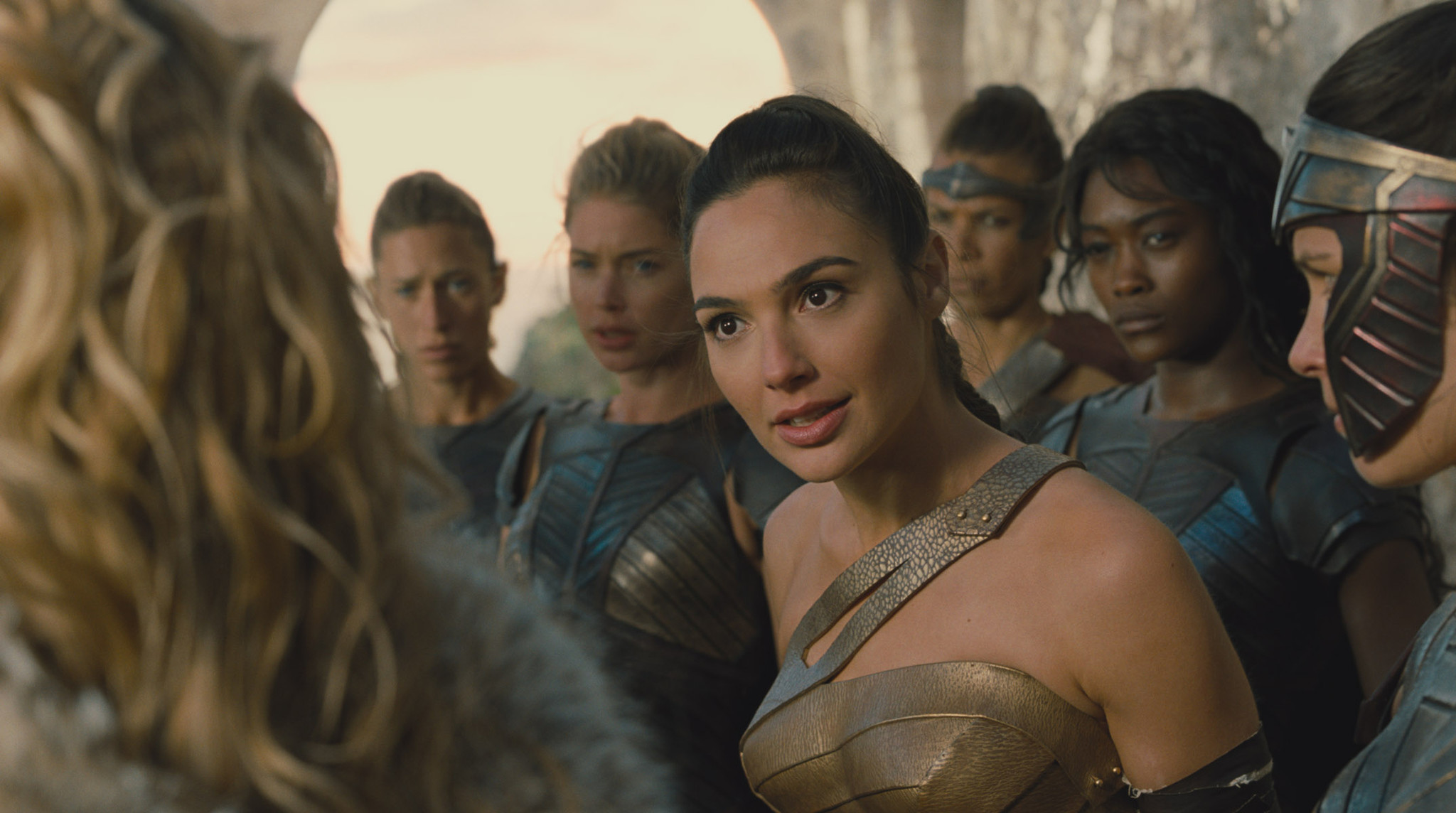 GAL GADOT as Diana in the action adventure