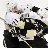 d12153a6182 Penguins win in OT to advance to second round