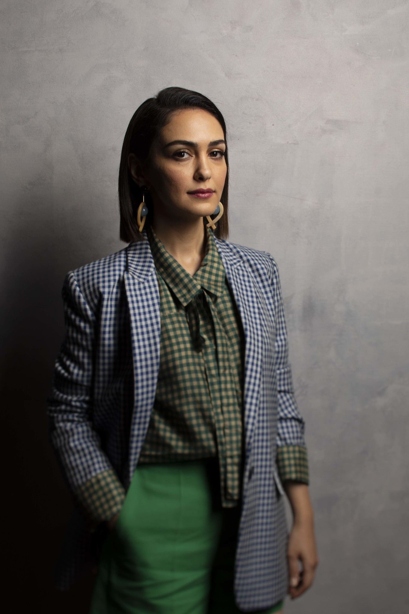 "TORONTO, ONT. — SEPTEMBER 07, 2018-- Actress Nazanin Boniadi, from the film ""Hotel Mumbai,"" photog"