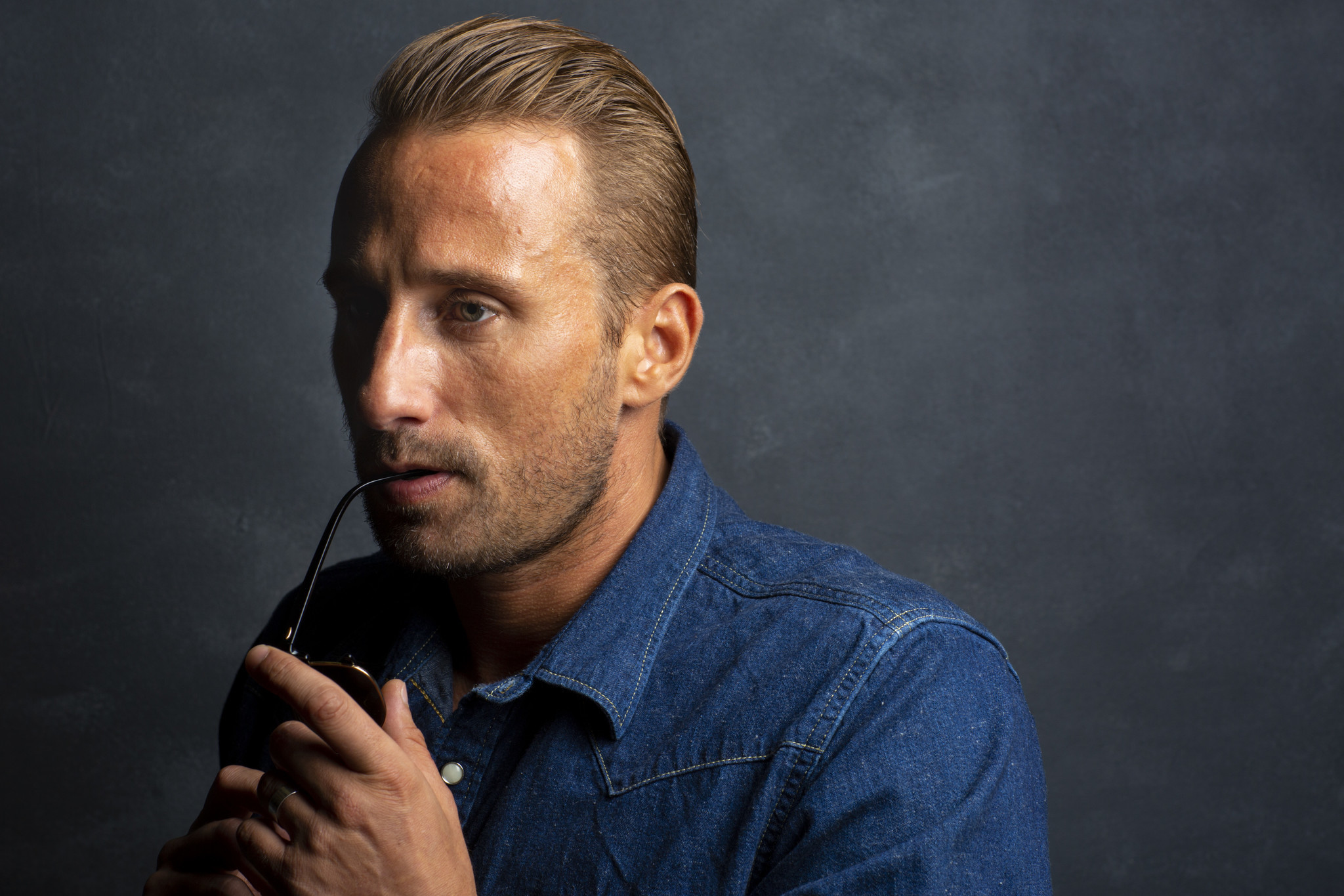 TORONTO, ONT. — SEPTEMBER 07, 2018-- Actor Matthias Schoenaerts, from the film