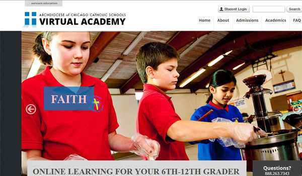 Archdiocese launches online classes for middle, high school