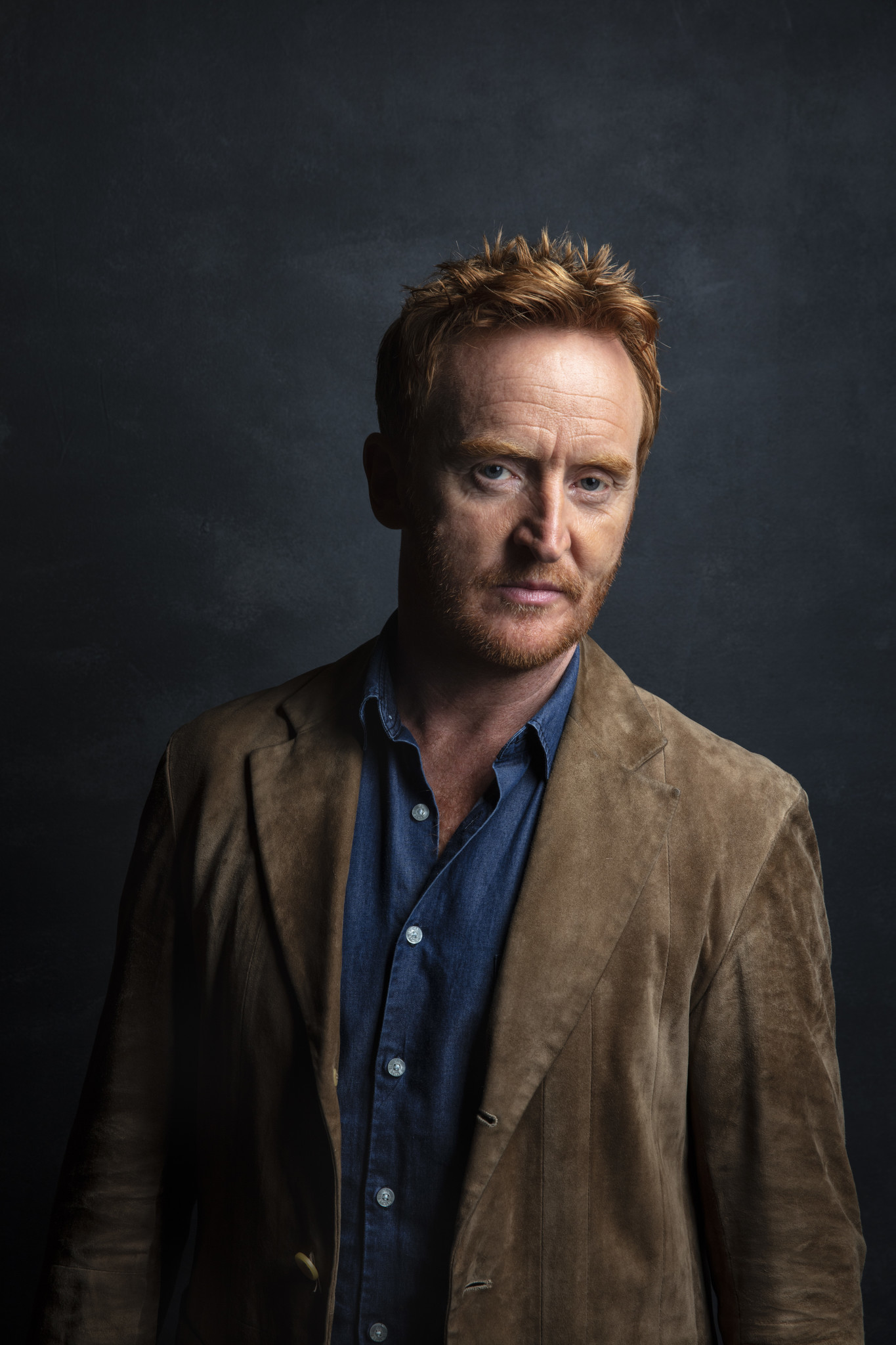 "TORONTO, ONT. — SEPTEMBER 07, 2018-- Actor Tony Curran from the film, ""Outlaw King,"" photographed i"