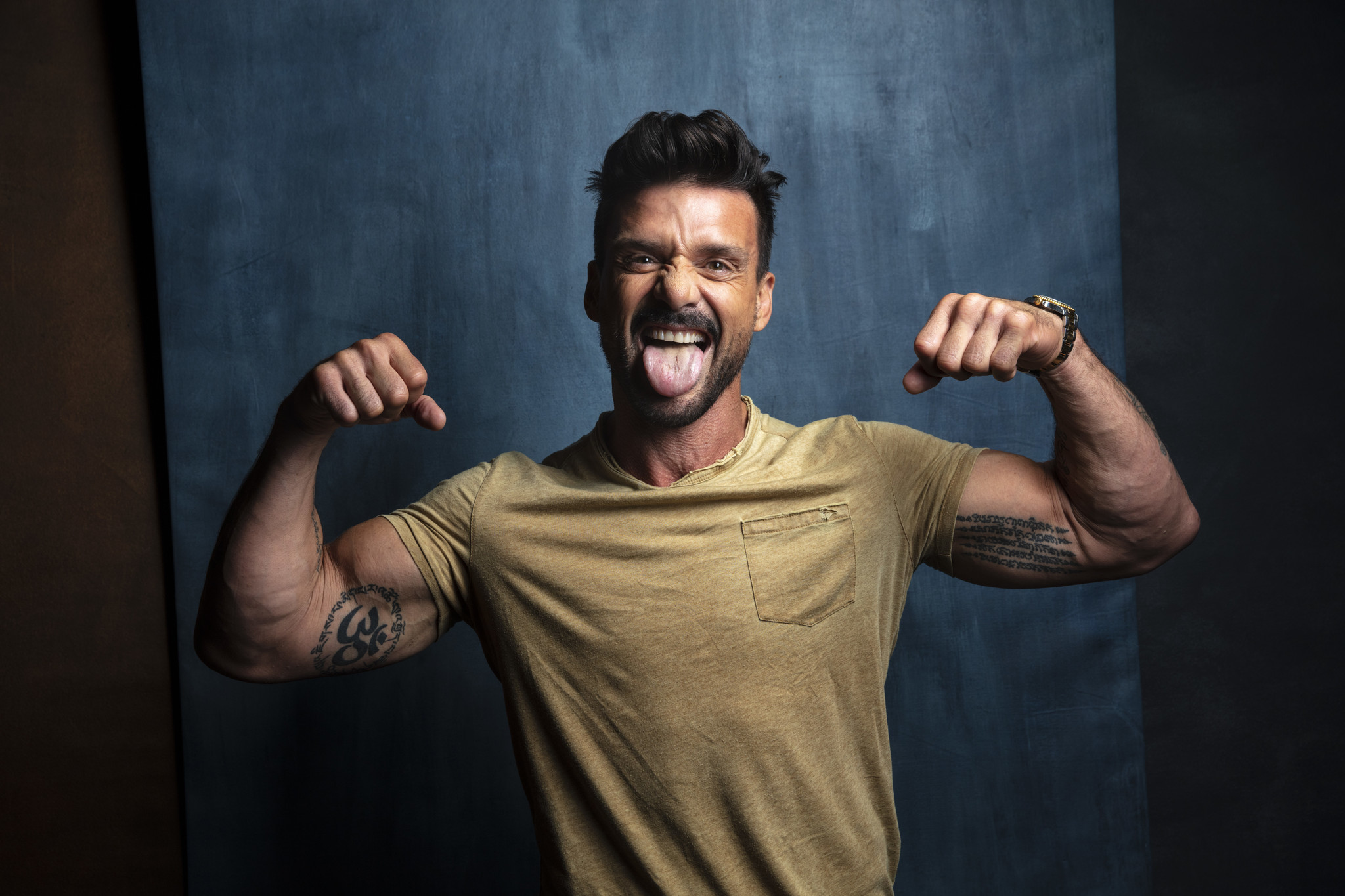 "TORONTO, ONT. — SEPTEMBER 07, 2018-- Actor Frank Grillo from the film, ""Donnybrock,"" photographed i"