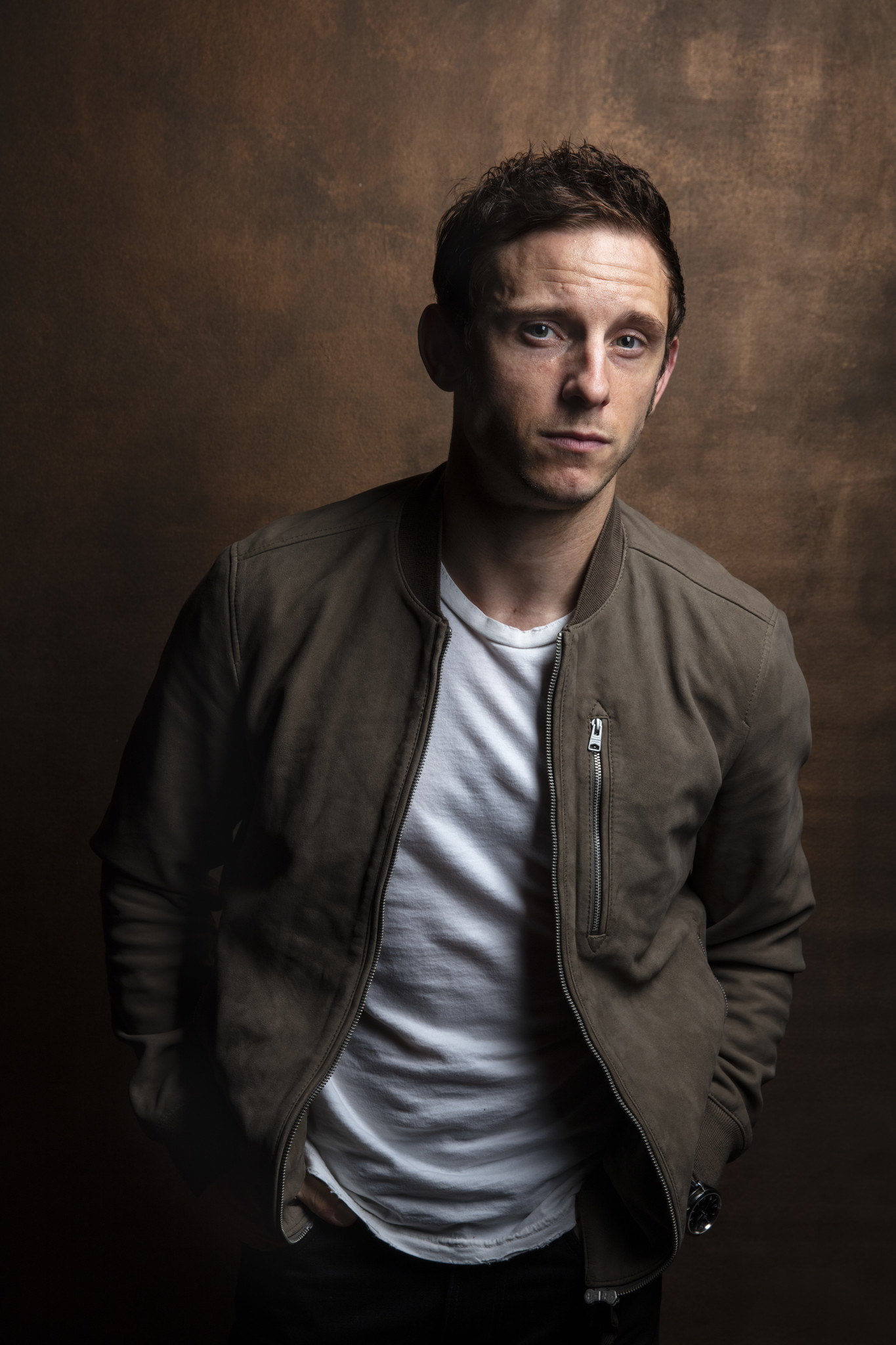 "TORONTO, ONT. — SEPTEMBER 07, 2018-- Actor Jamie Bell from the film, ""Donnybrock,"" photographed in"