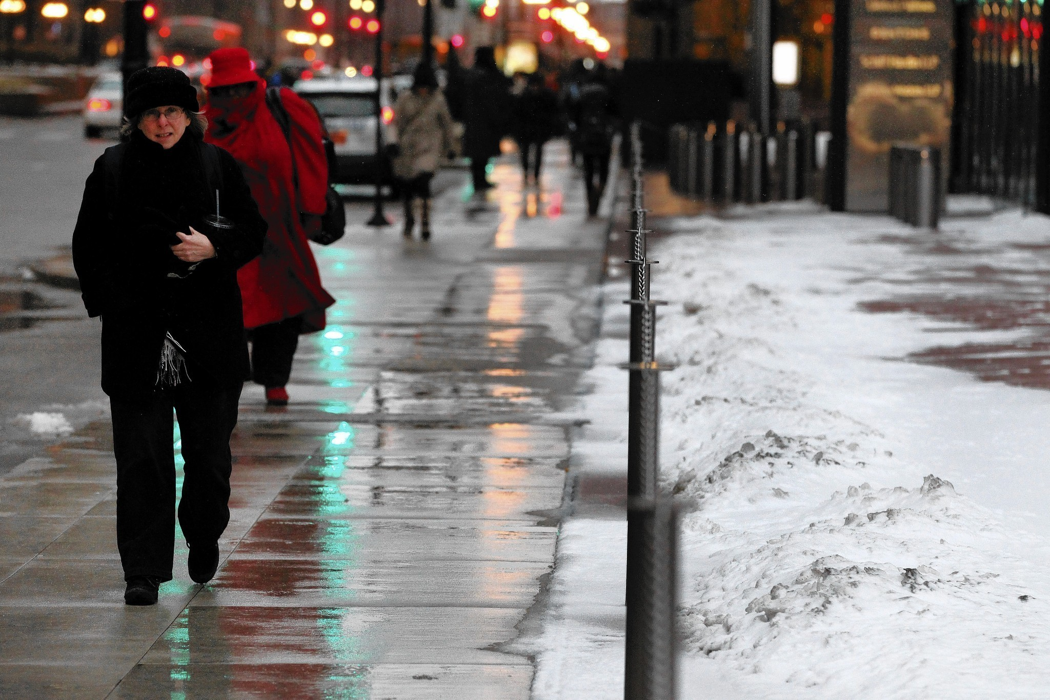 Heated Sidewalks A Welcome Amenity In Brutal Winter