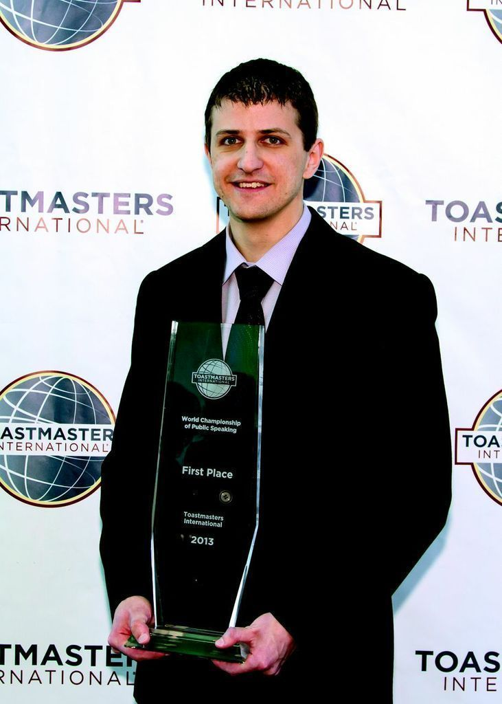 Toastmasters champion shares public-speaking tips