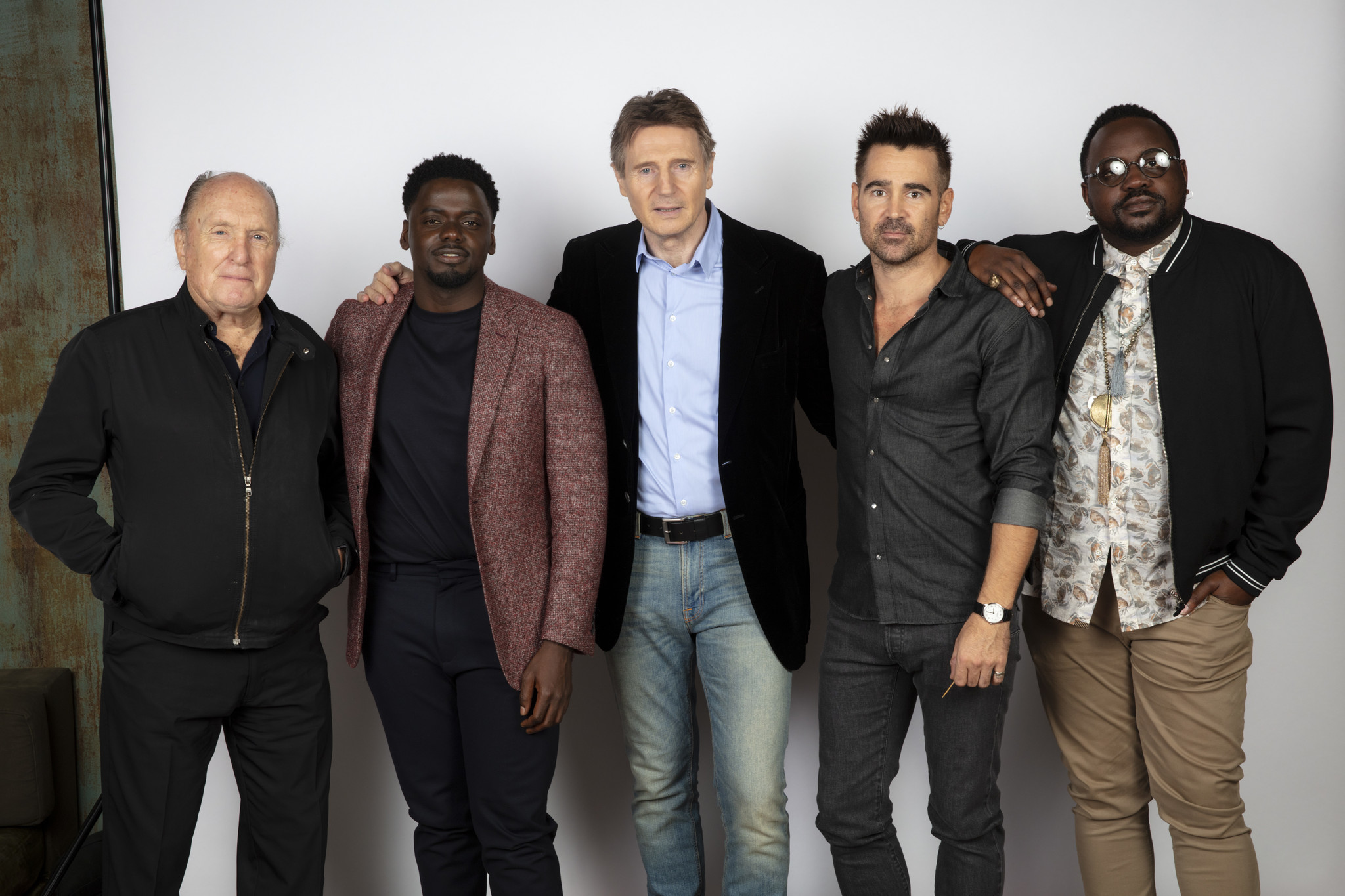 TORONTO, ONT. — SEPTEMBER 08, 2018-- Actor Robert DuVall, actor Liam Neeson, actor Daniel Kaluuya,