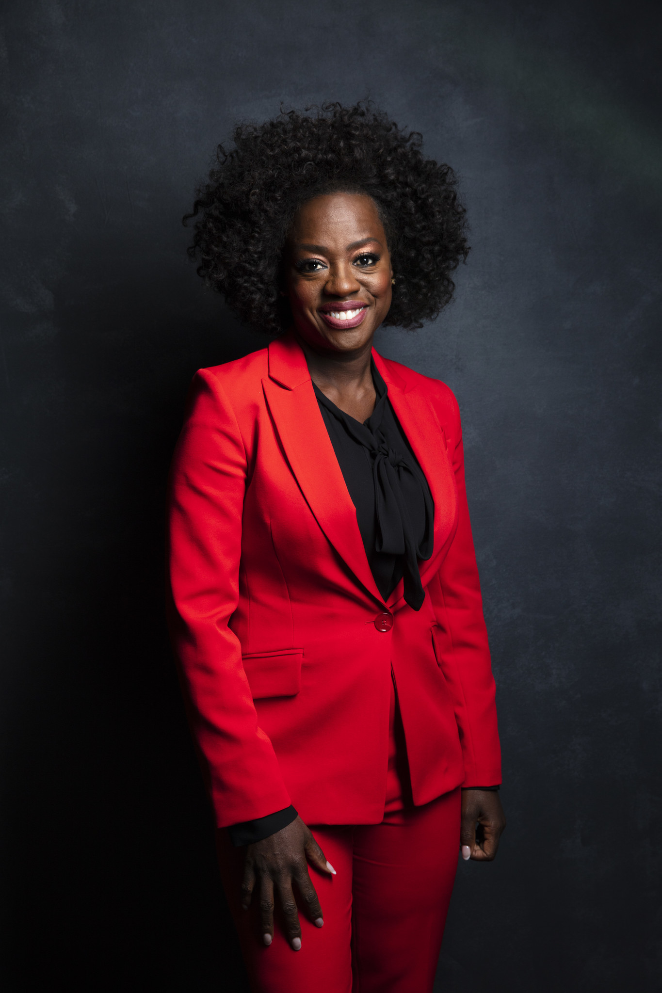 "TORONTO, ONT. — SEPTEMBER 08, 2018-- Actress Viola Davis, from the film, ""Widows,"" photographe"