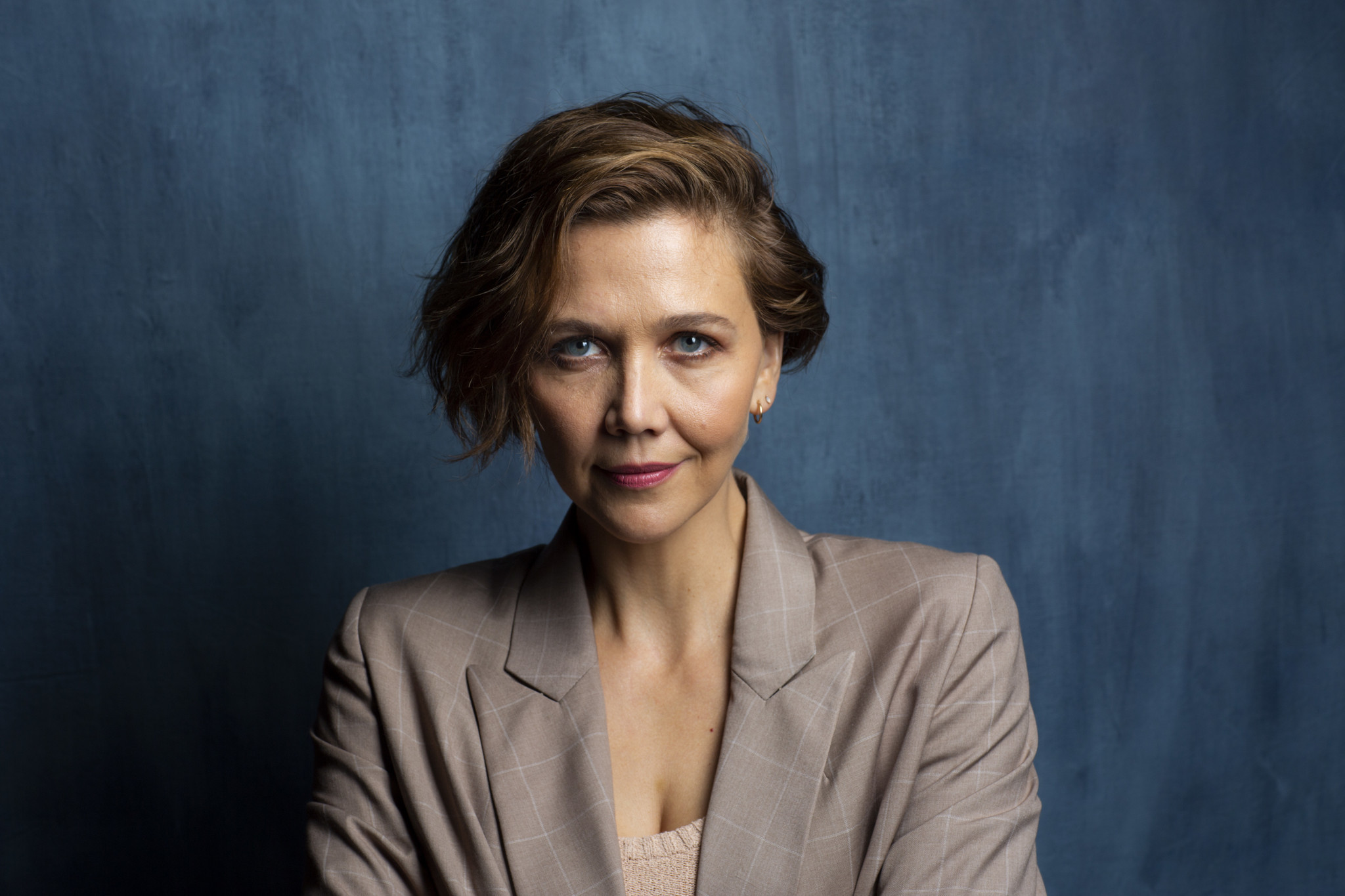 "TORONTO, ONT. — SEPTEMBER 08, 2018-- Actress Maggie Gyllenhaal, from the film ""The Kindergarten Te"