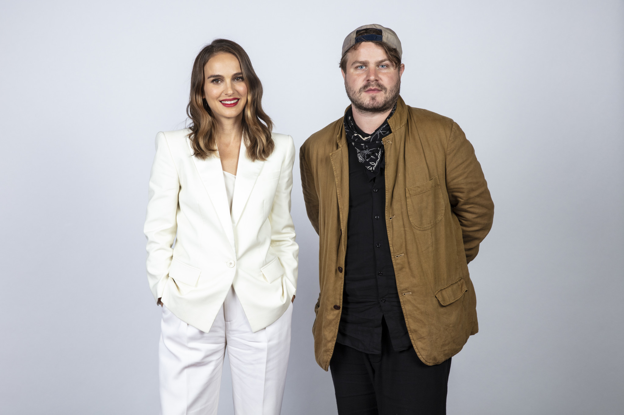 TORONTO, ONT. — SEPTEMBER 08, 2018-- Actress Natalie Portman, and director Brady Corbet, from the
