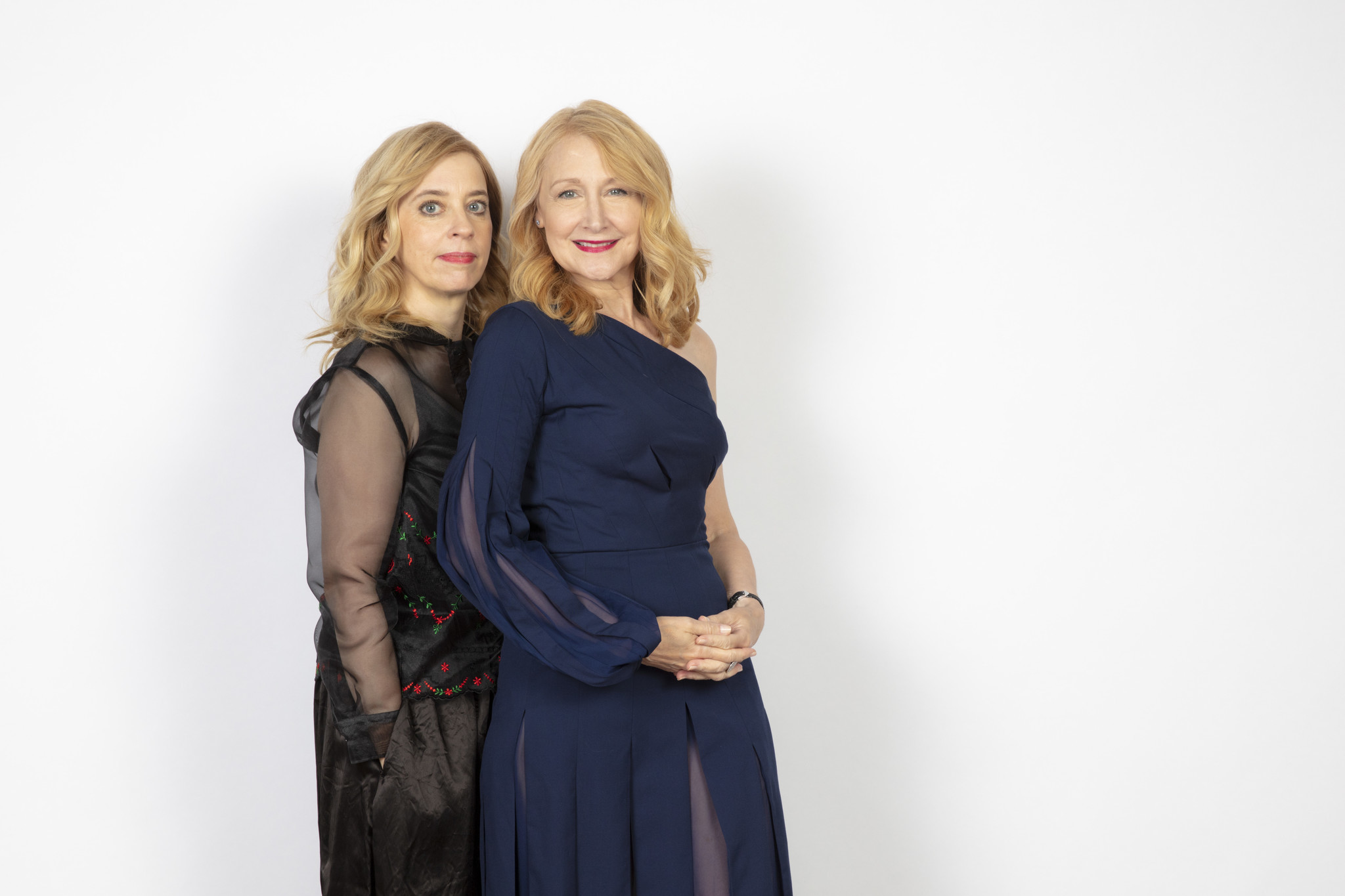 TORONTO, ONT. — SEPTEMBER 08, 2018-- Writer/Director Carol Morley and actress Patricia Clarkson fr