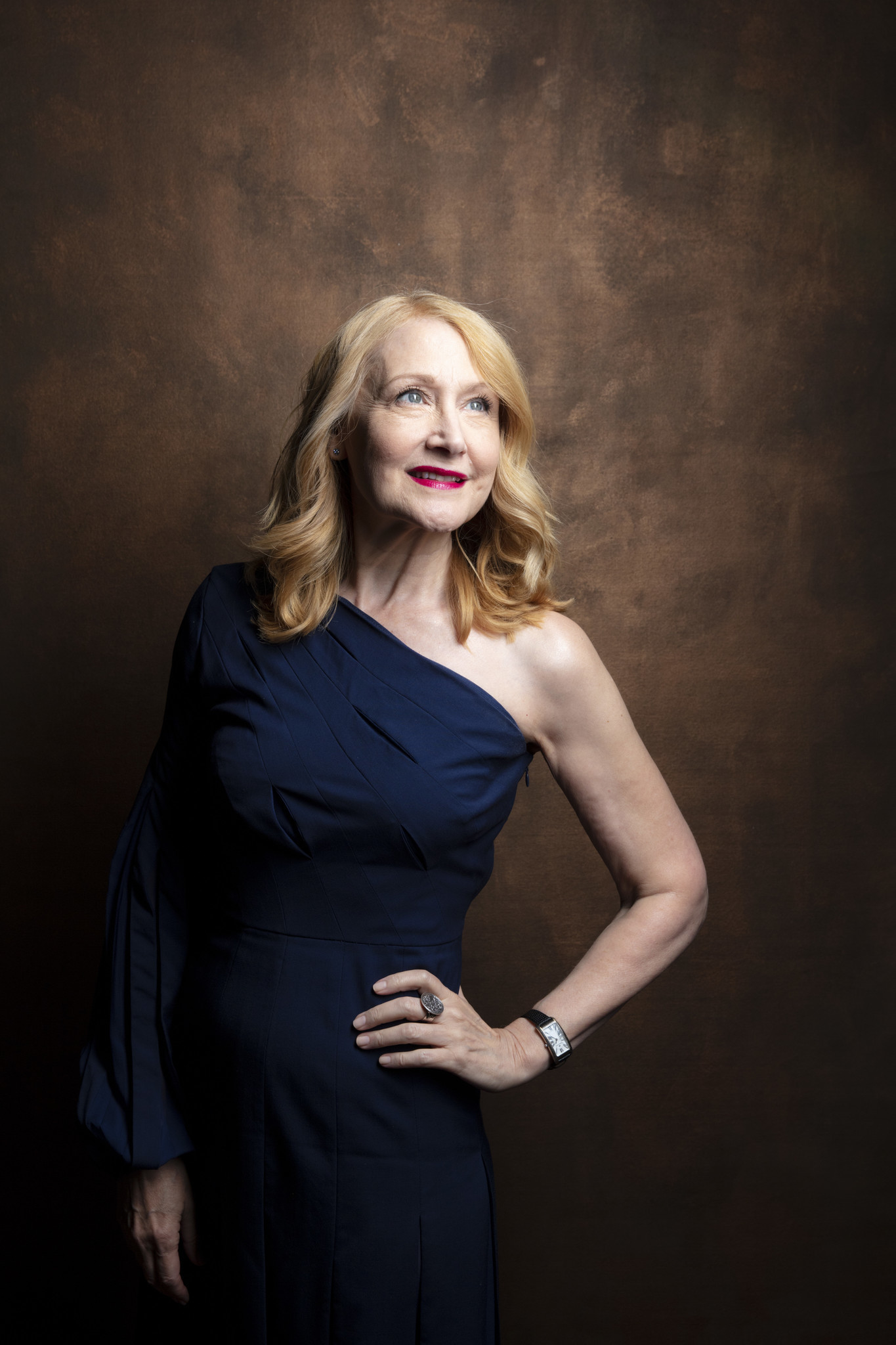 "TORONTO, ONT. — SEPTEMBER 08, 2018-- Actress Patricia Clarkson from the film, ""Out of Blue,"" p"