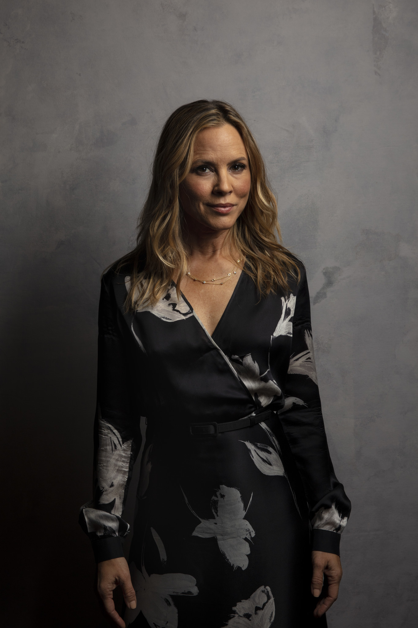 "TORONTO, ONT., CA — SEPTEMBER 09, 2018-- Actress Maria Bello, from the film ""Giant Little Ones,"" ph"