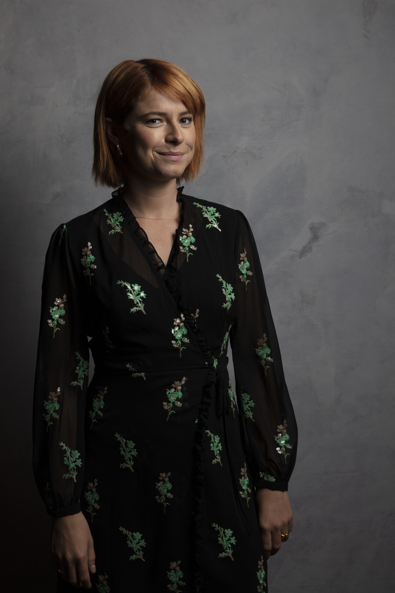 TORONTO, ONT., CA — SEPTEMBER 09, 2018-- Actress Jessie Buckley, from the film