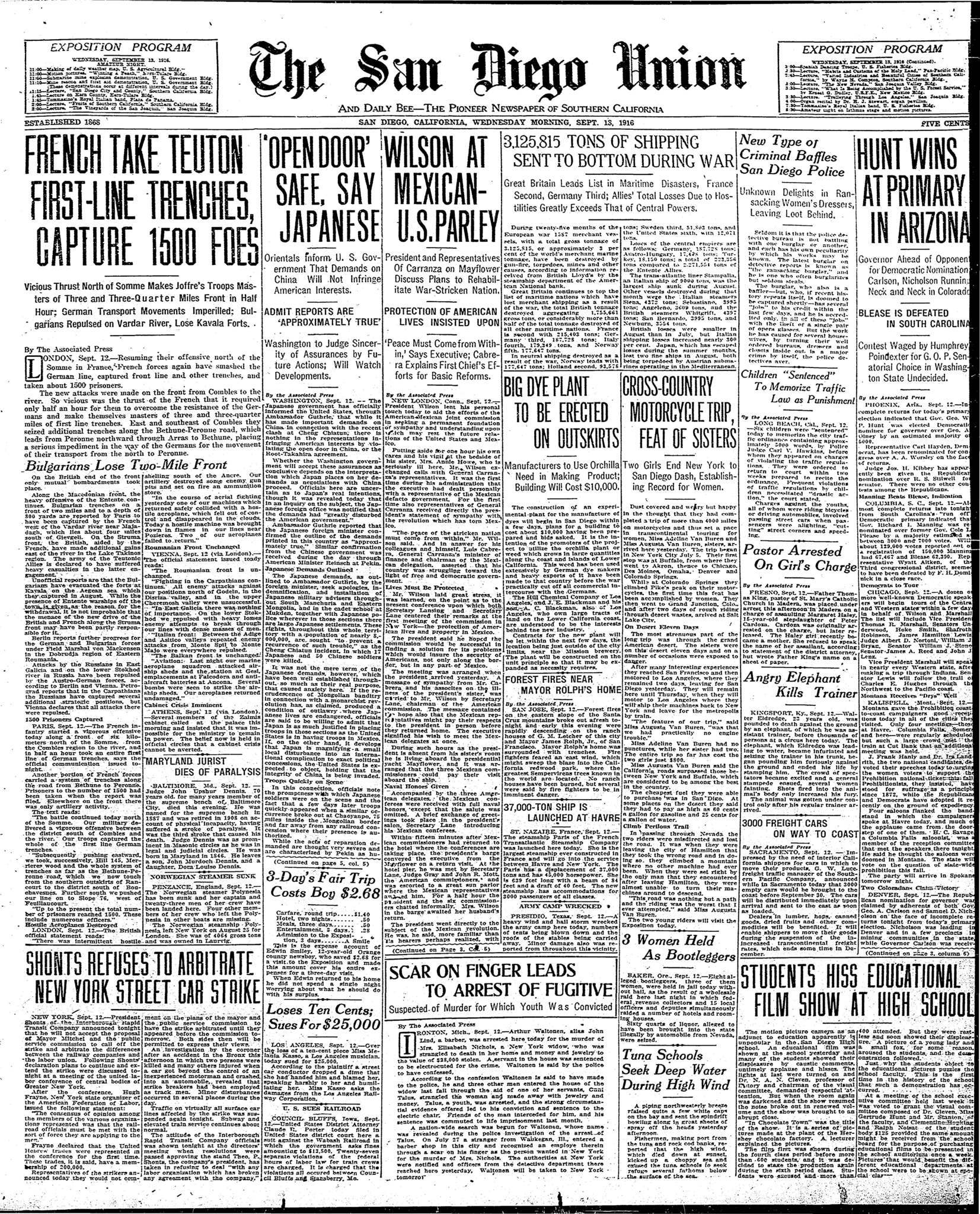 September 13, 1916