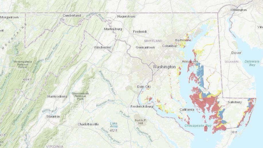 Flood Zone Map Florida.Know When To Evacuate Ahead Of Hurricane Florence Learn Maryland S
