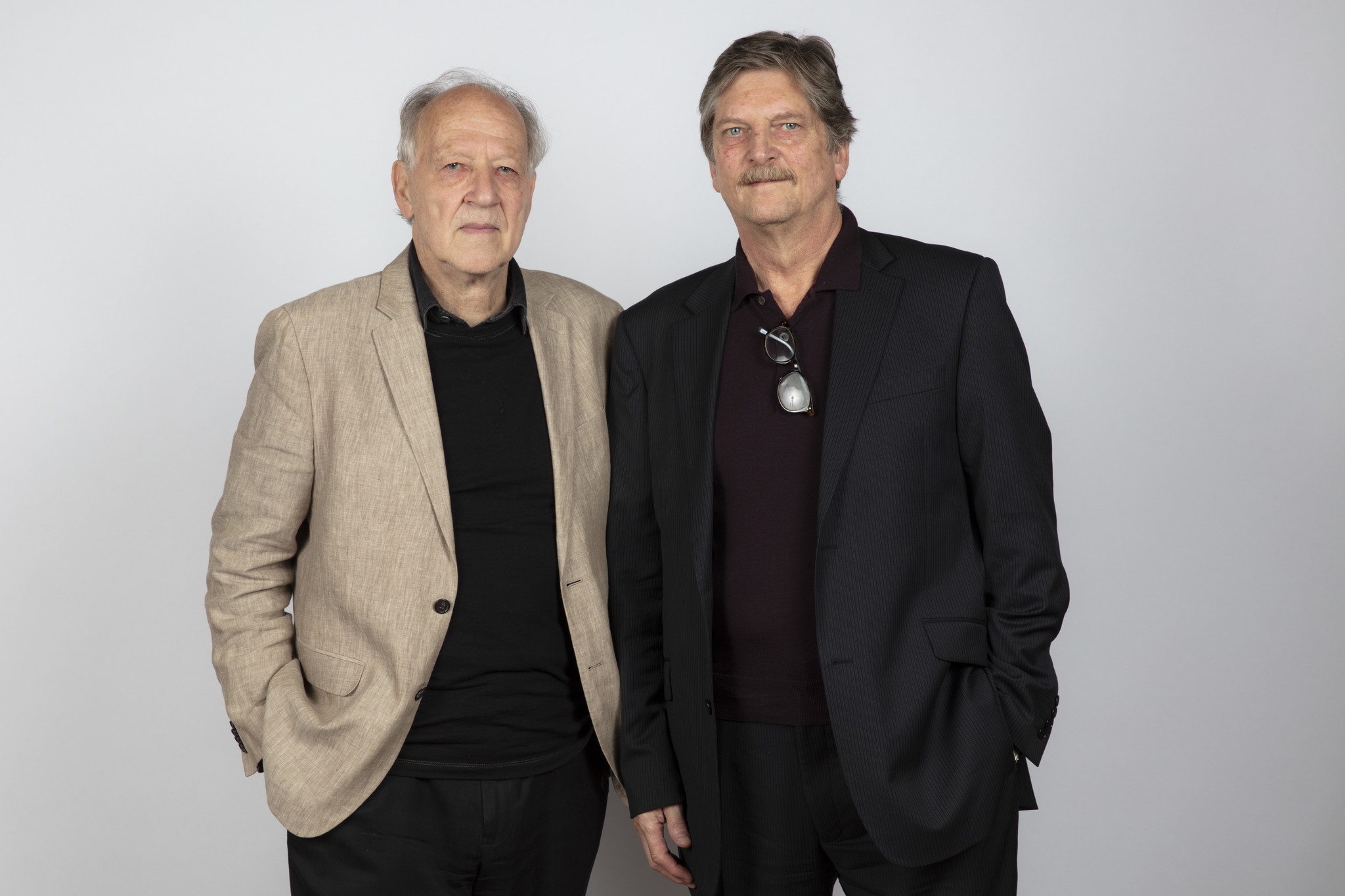 "TORONTO, ONT., CA — SEPTEMBER 10, 2018-- Directors Werner Herzog and Andrè Singer, from ""Meeting Go"