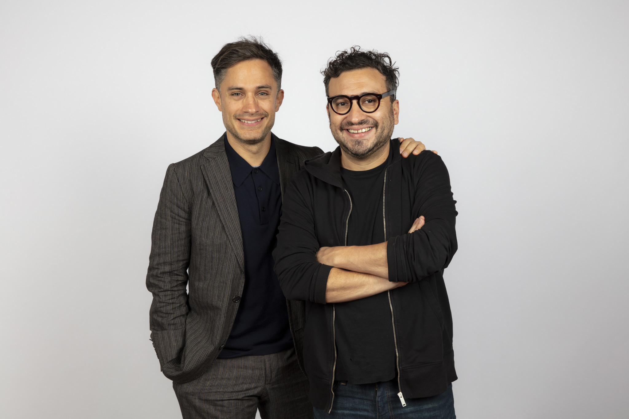 TORONTO, ONT., CA — SEPTEMBER 10, 2018-- Actor Gael Garcia Bernal, and director Alonso Ruizpalacios