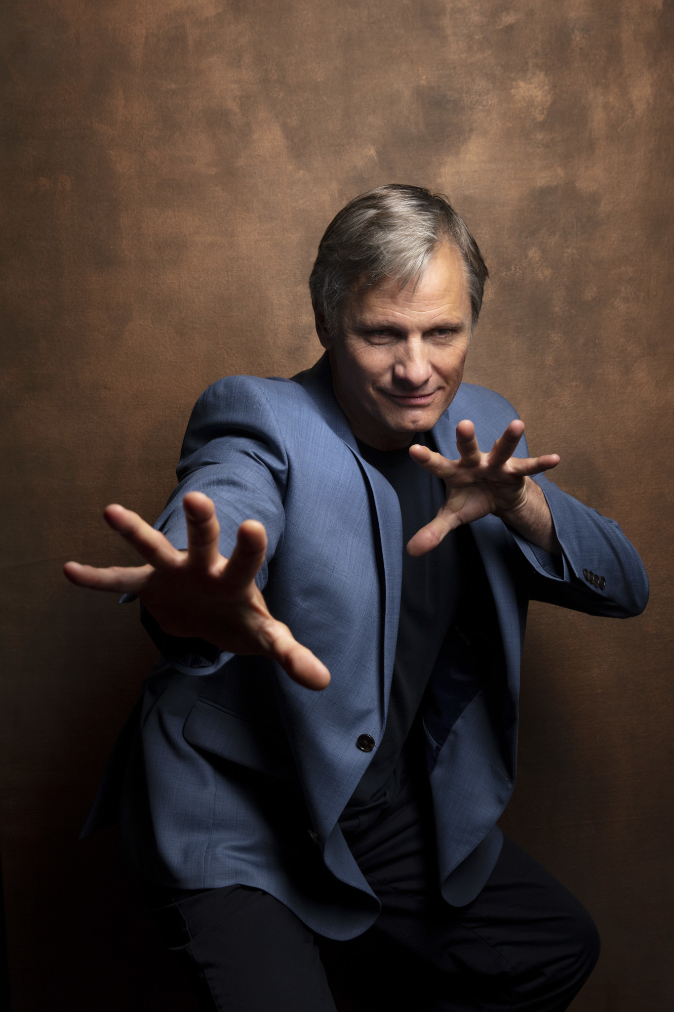 "TORONTO, ONT., CA — SEPTEMBER 10, 2018-- Viggo Mortensen, from ""Green Book,"" photographed in the L."