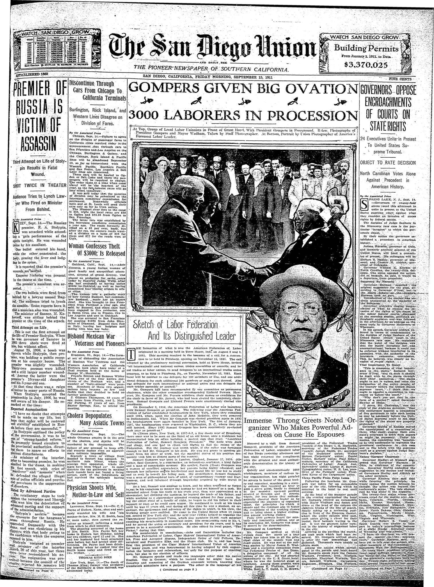 September 15, 1911