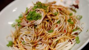 Summer Sichuan noodles