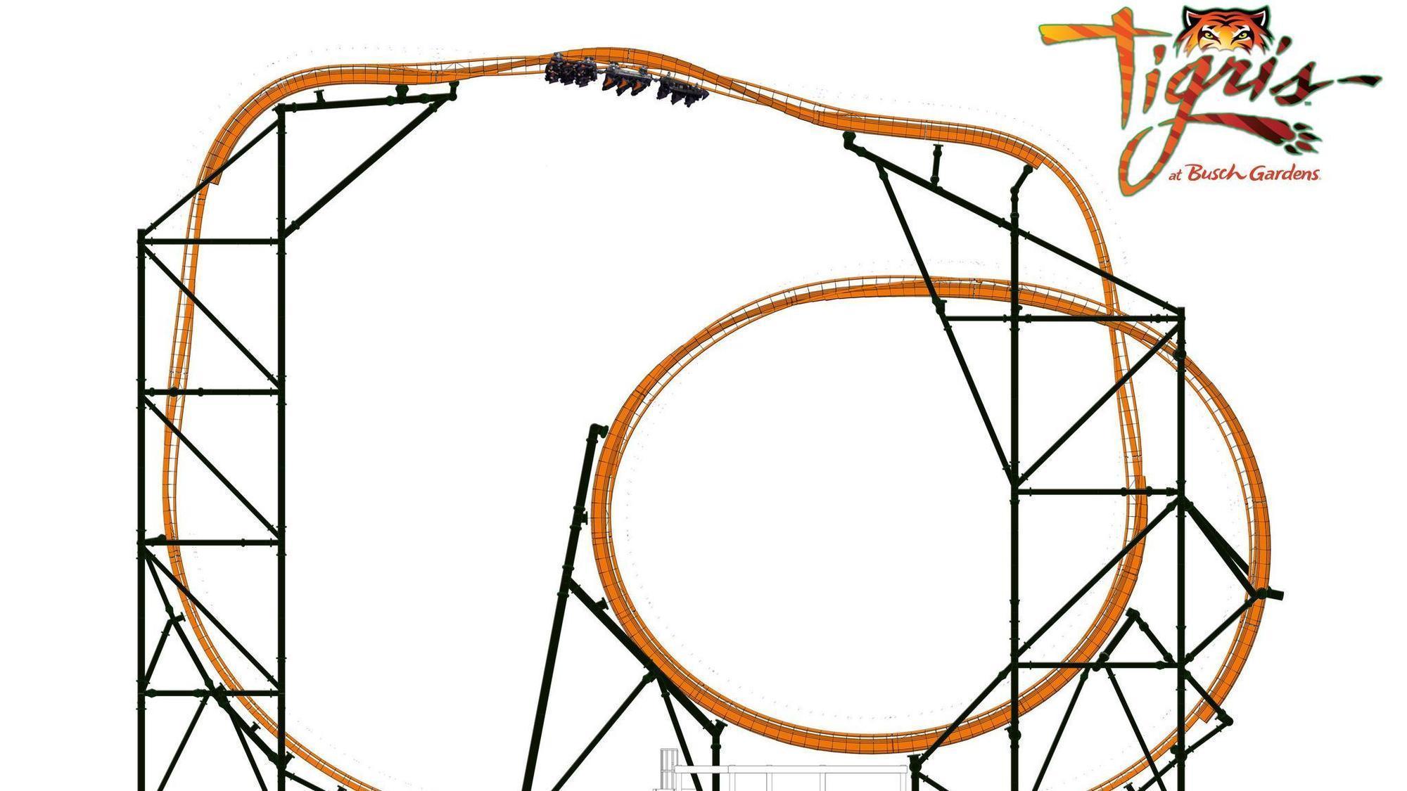 Busch gardens adding coaster in 39 19 another thrill ride - Busch gardens tampa roller coasters ...