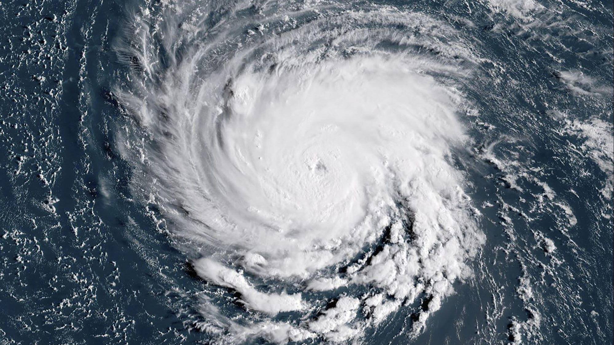as hurricane florence closes in maryland gauges risks this one