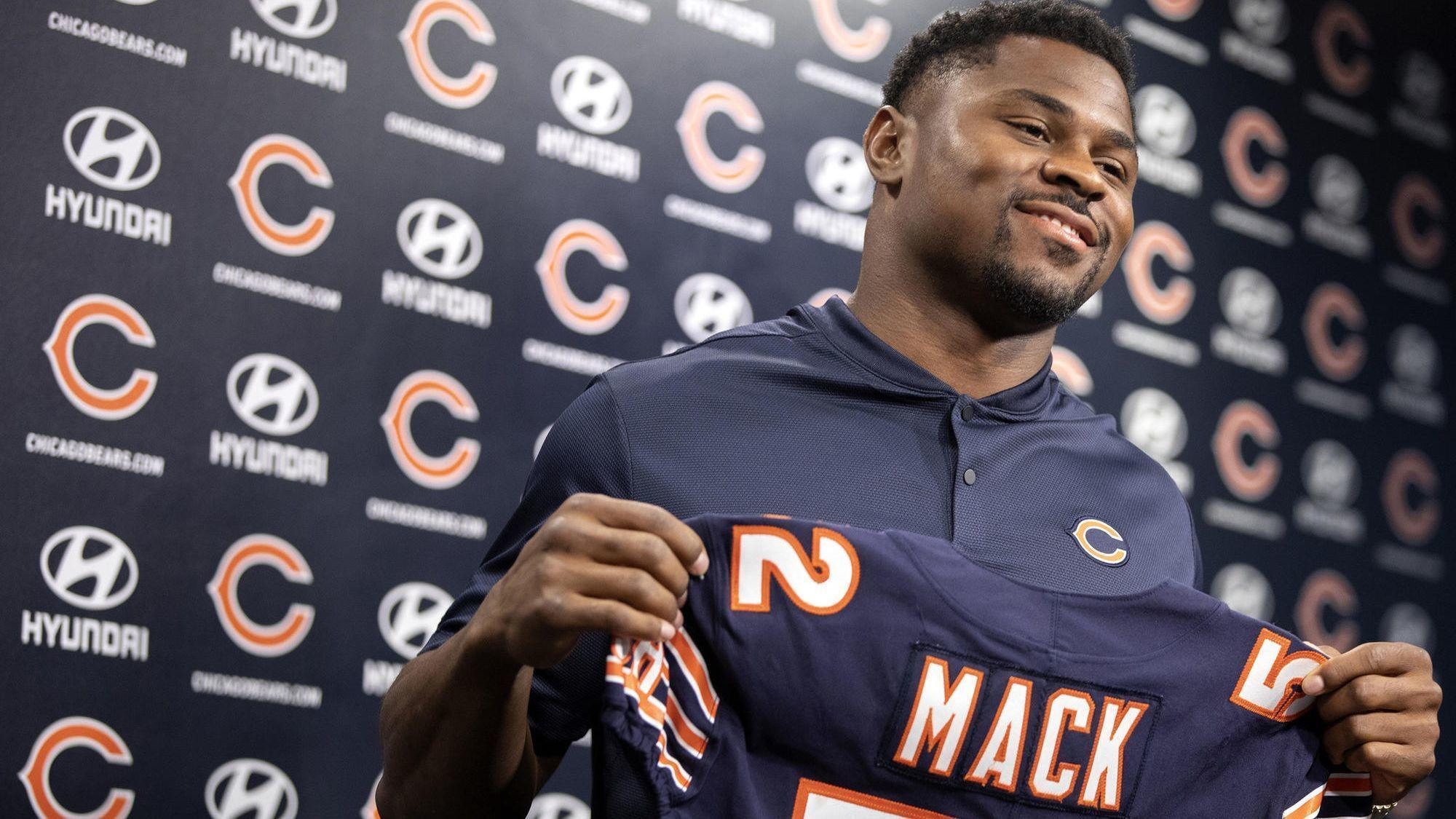3b40e57759e Khalil Mack's Bears jersey outselling the rest of the NFL since Sunday -  Chicago Tribune