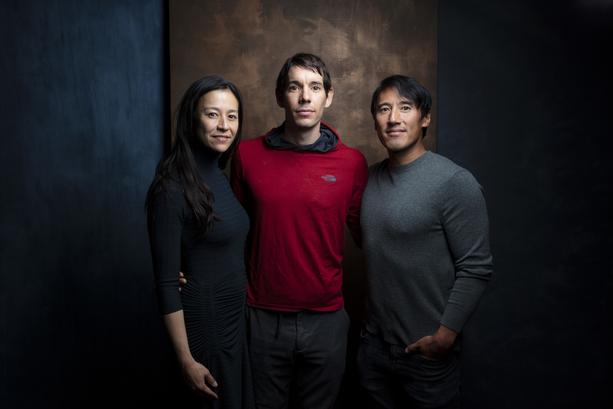 TORONTO, ONT., CA — SEPTEMBER 10, 2018-- Director Chai Vaserhelyi, subject Alex Honnold, and direct
