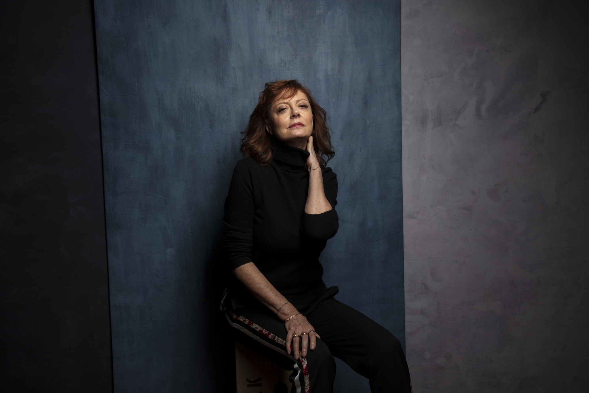 "TORONTO, ONT., CA — SEPTEMBER 10, 2018-- Actress Susan Sarandon, from tje film ""Viper Club,"" photog"