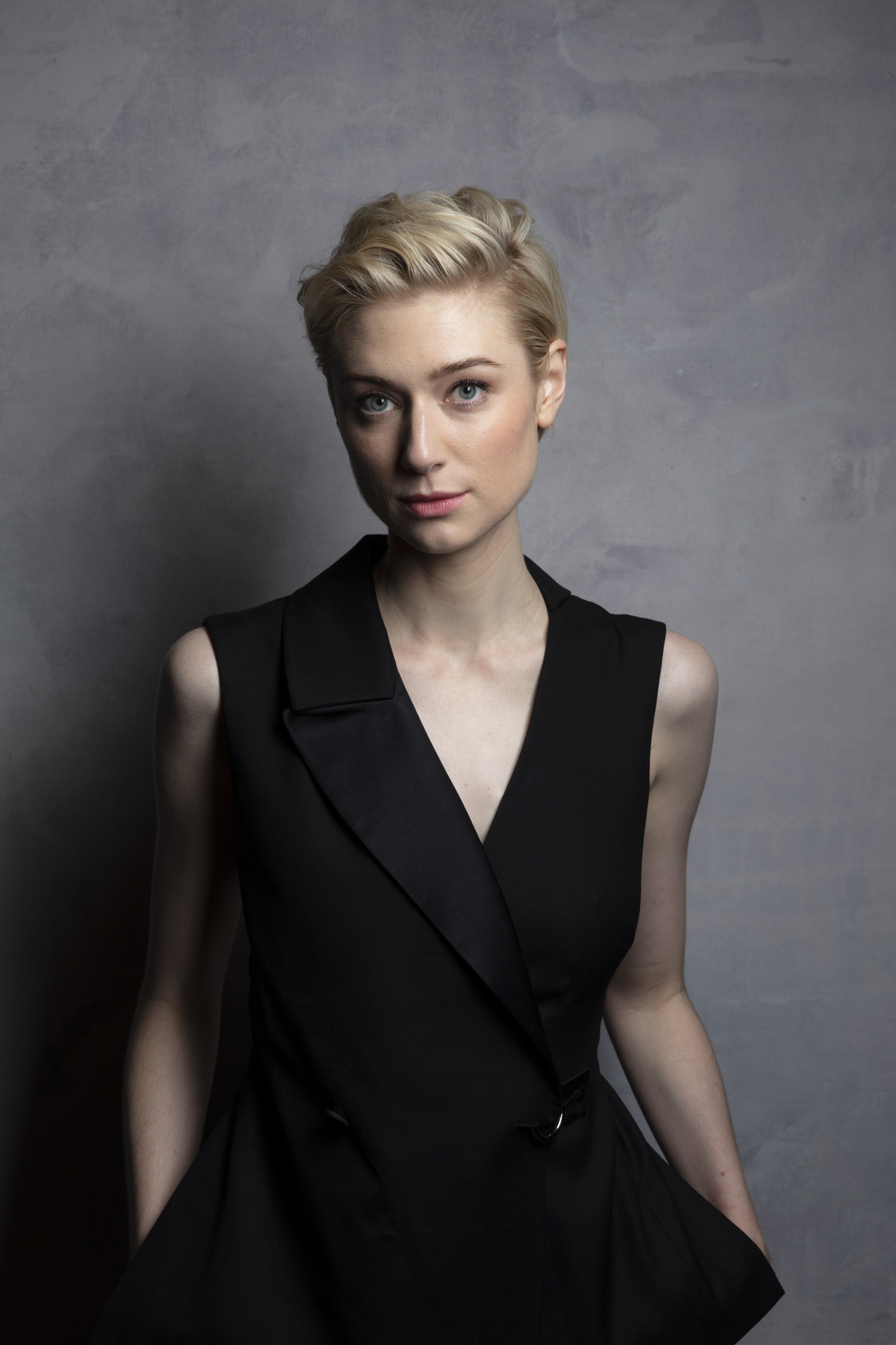 TORONTO, ONT., CA — SEPTEMBER 11, 2018-- Actress Elizabeth Debicki, from tje film