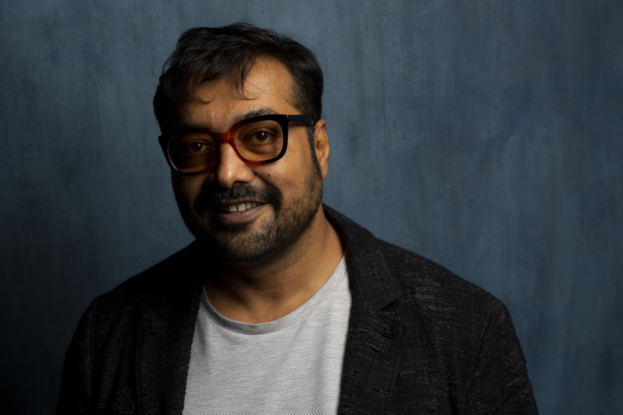"TORONTO, ONT., CA — SEPTEMBER 11, 2018-- Director Anurag Kashyap, from tje film ""Husband Material,"""