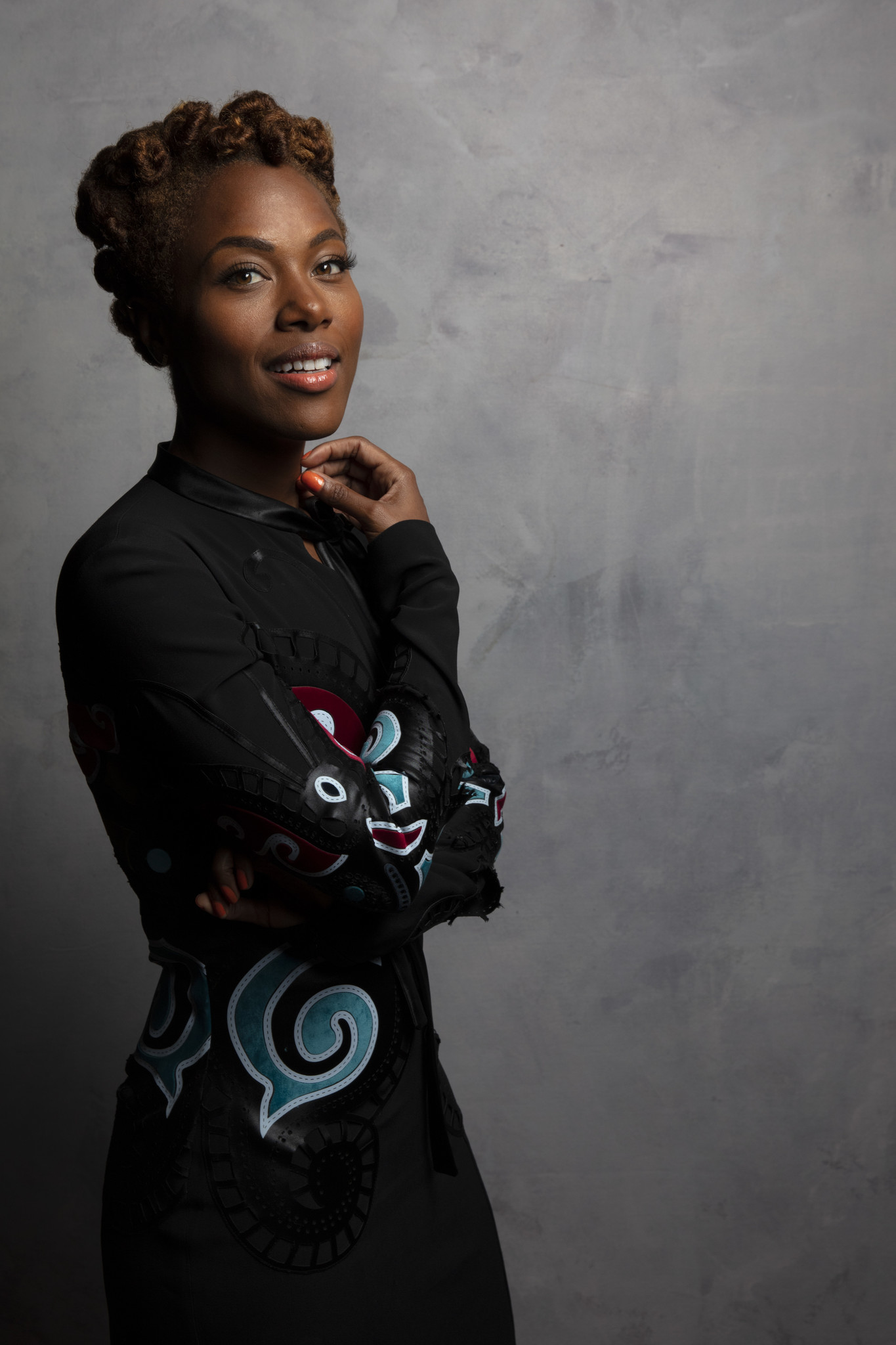 TORONTO, ONT., CA — SEPTEMBER 11, 2018-- Actress DeWanda Wise, from tje film